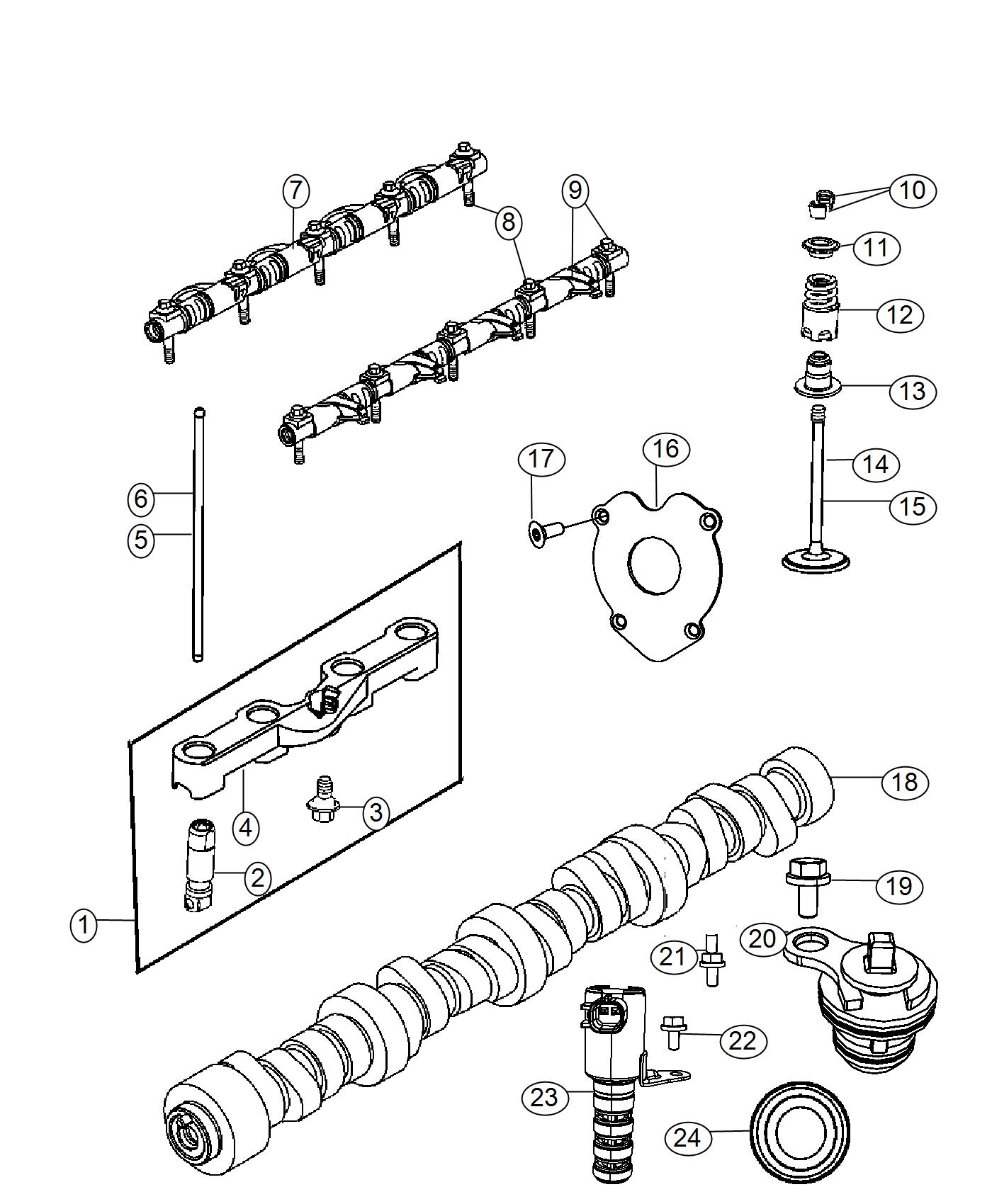 Dodge Charger Plug Cylinder Block Mds Solenoid