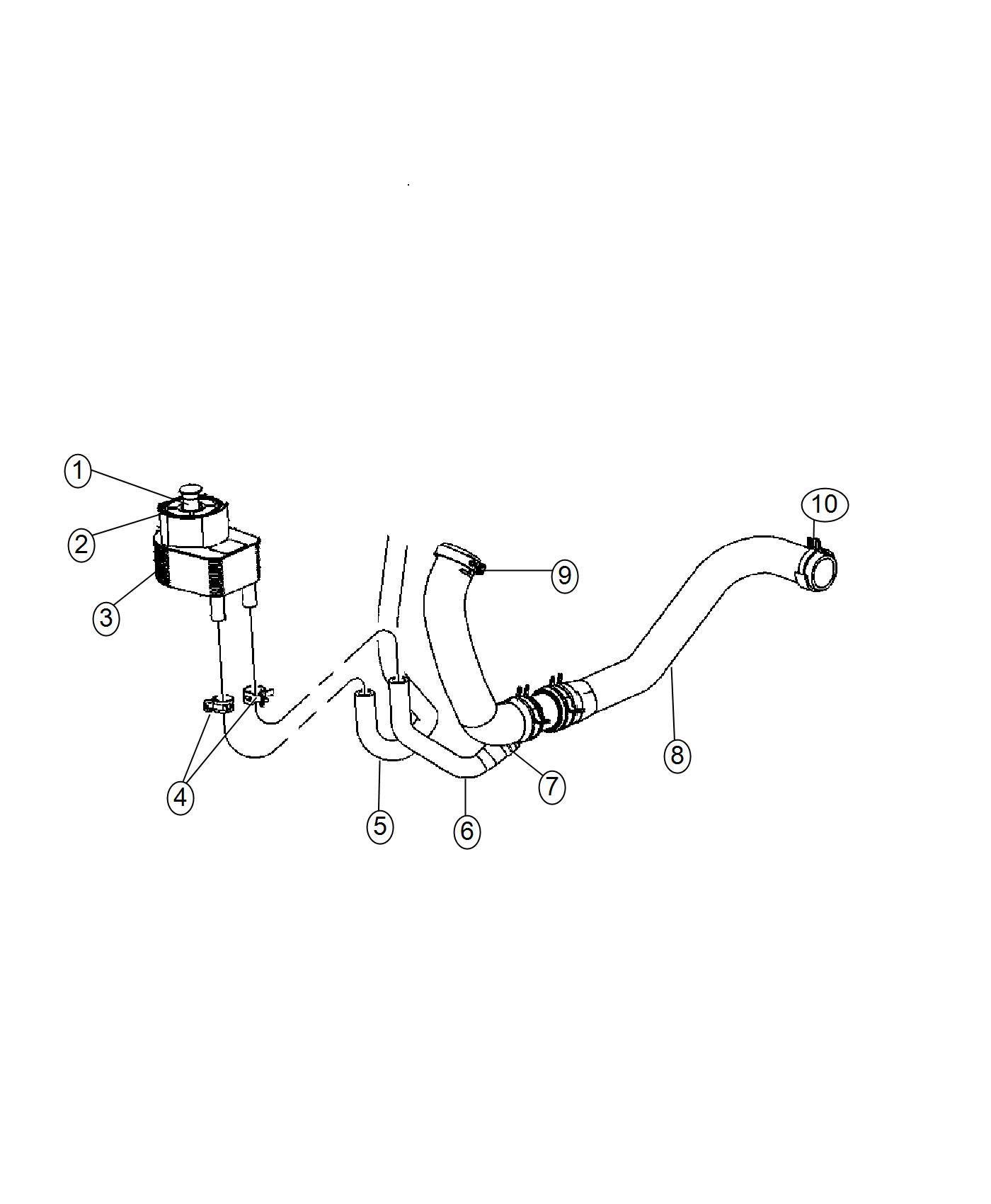 Dodge Charger Cooler Engine Oil Engine Oil Cooler