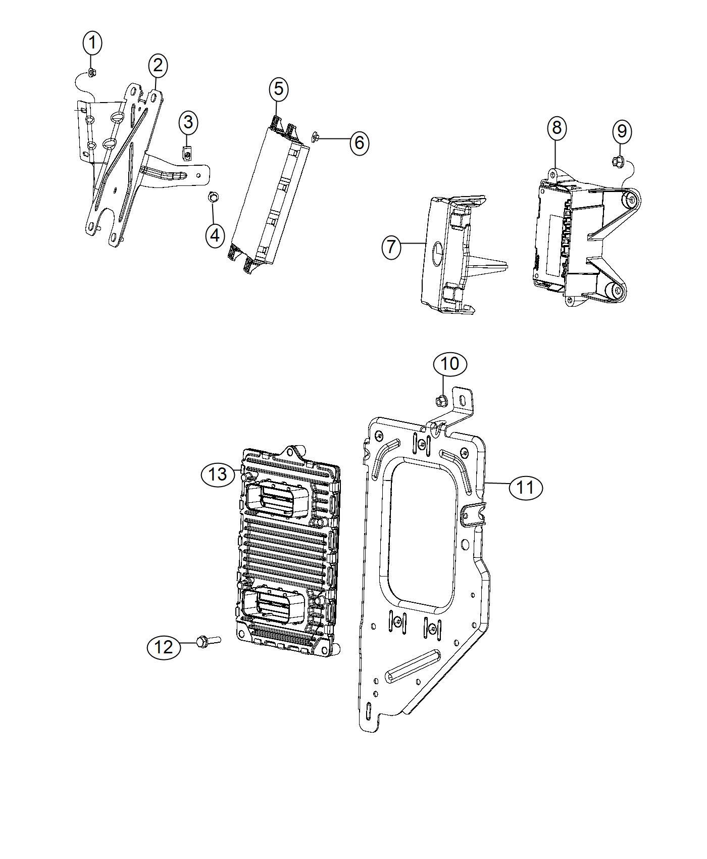 Ram Module Powertrain Control Generic Engine