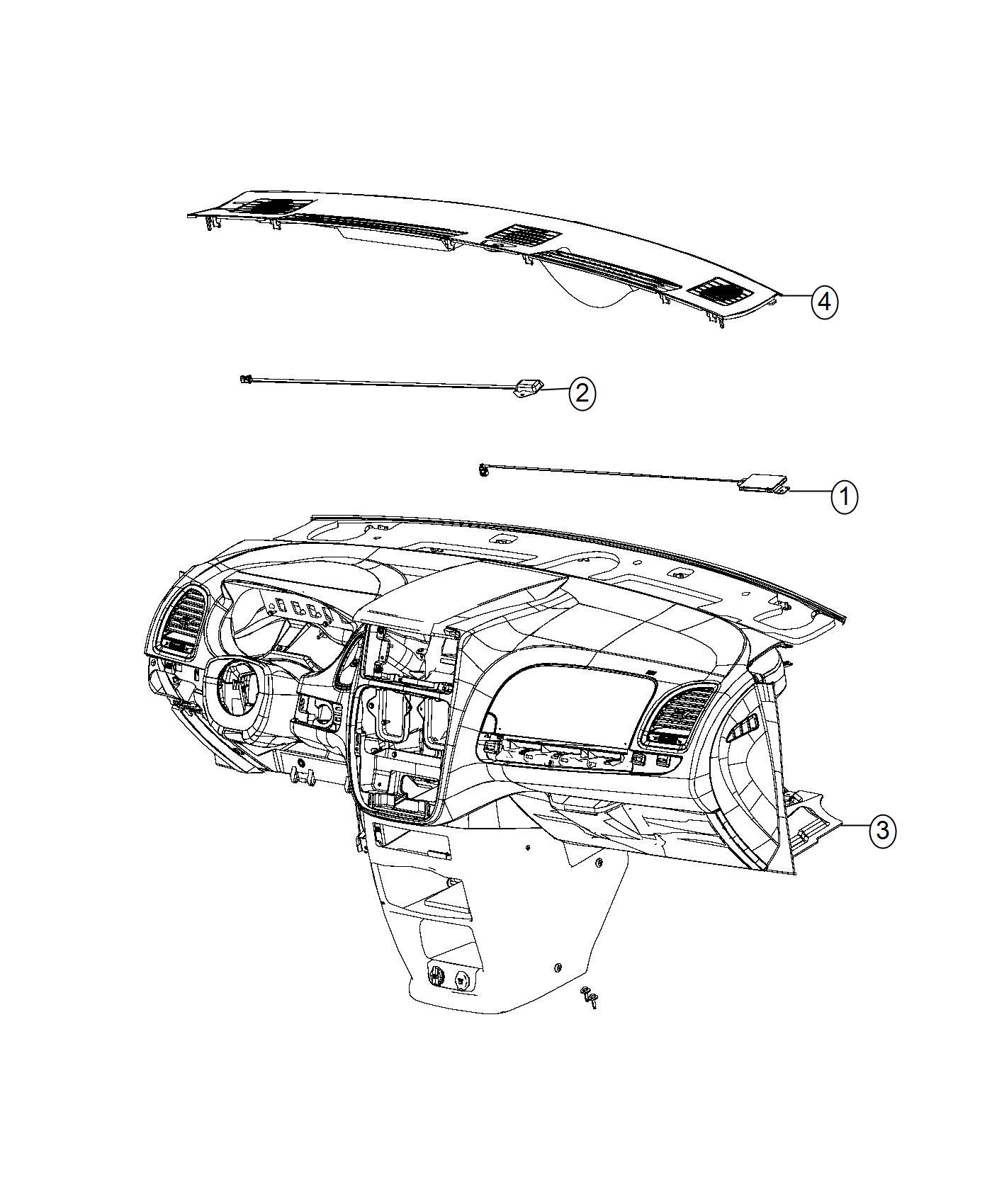 Dodge Grand Caravan Antenna Keyless Entry Power Sliding