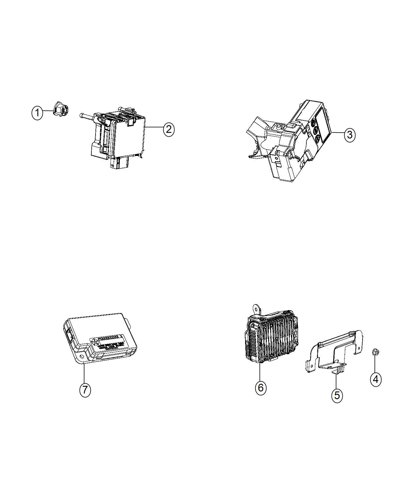 Jeep Renegade Bracket Instrument Panel Export