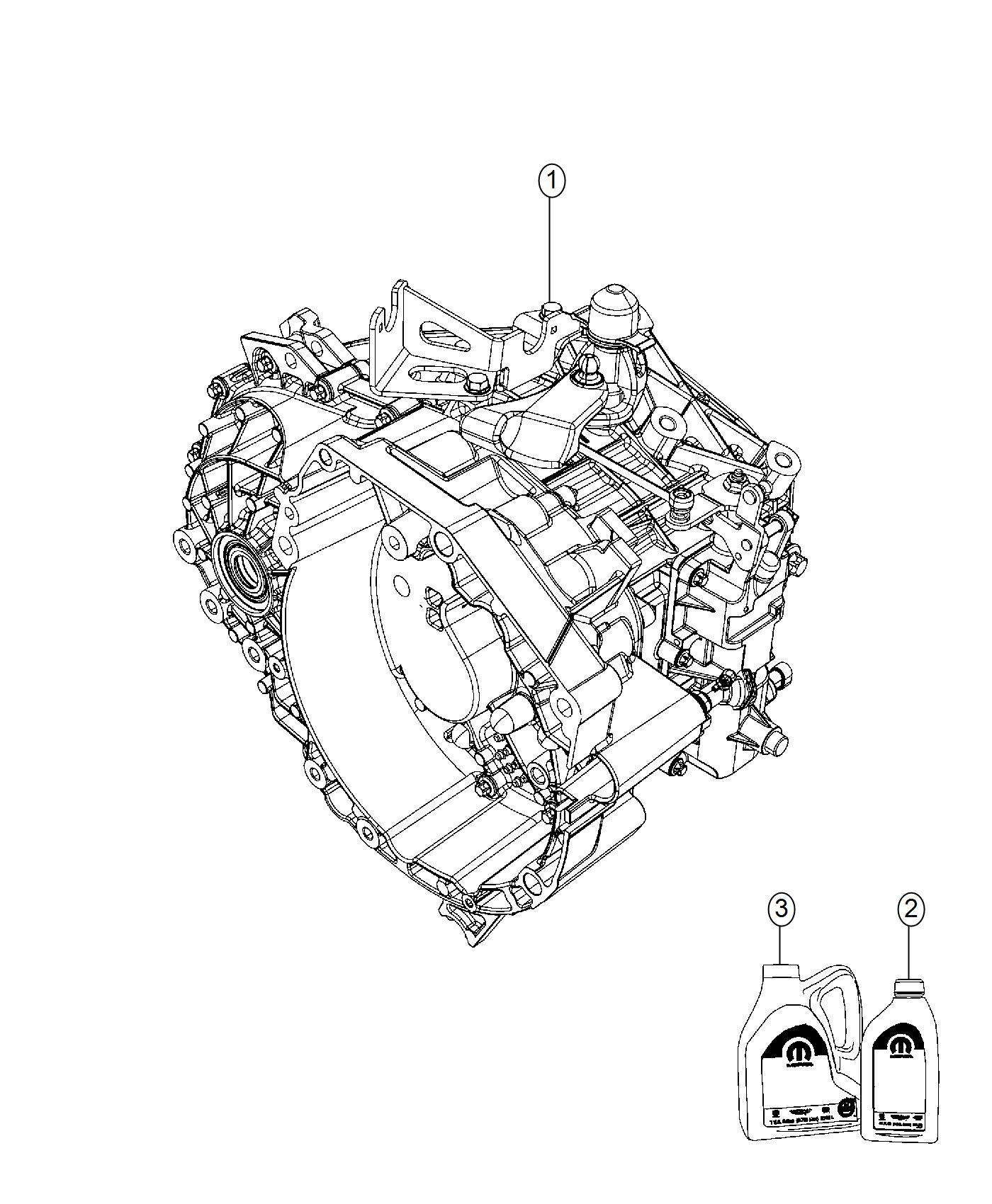 Jeep Renegade Fluid C Series Transmission C635
