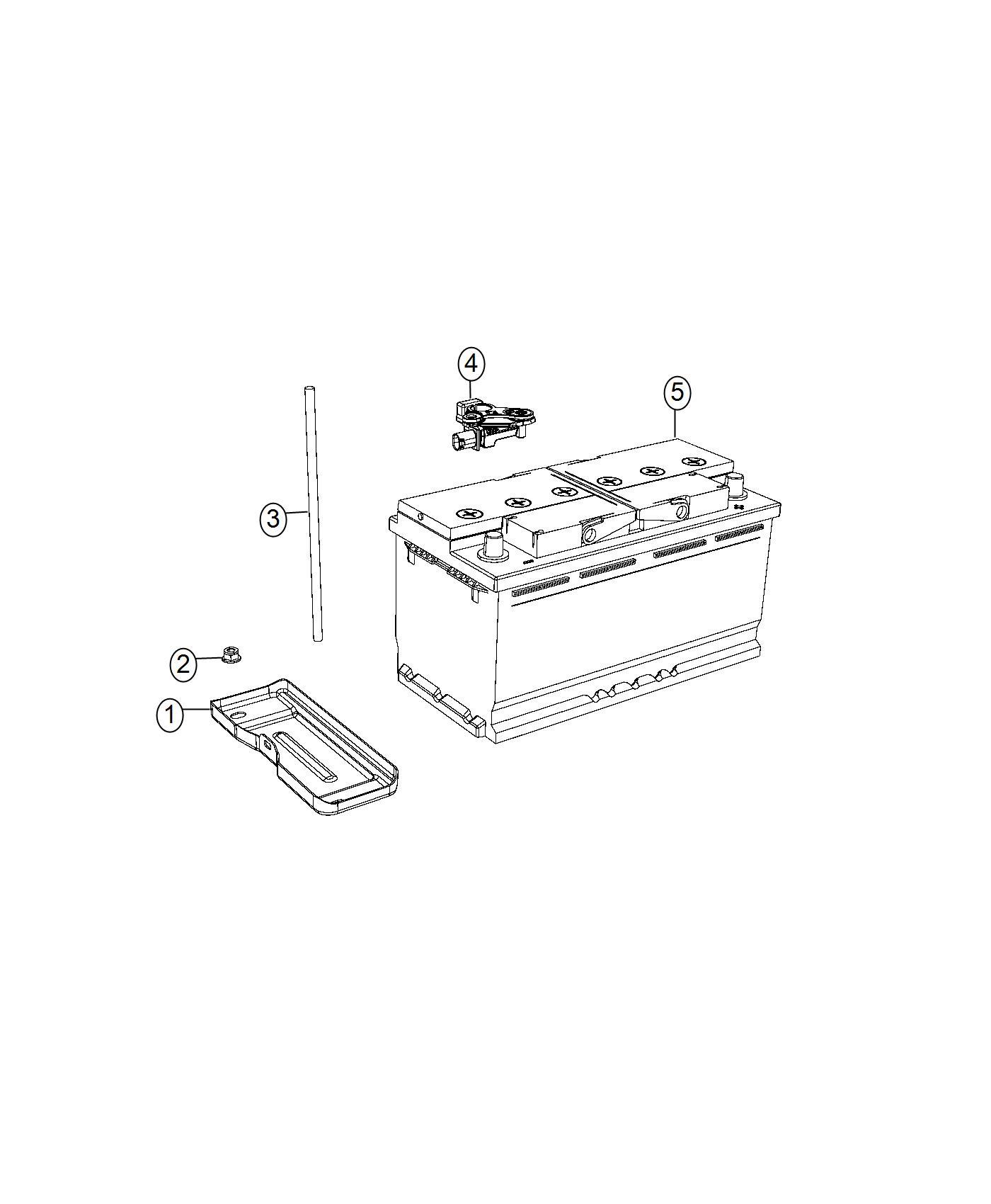 Jeep Grand Cherokee Sensor Battery