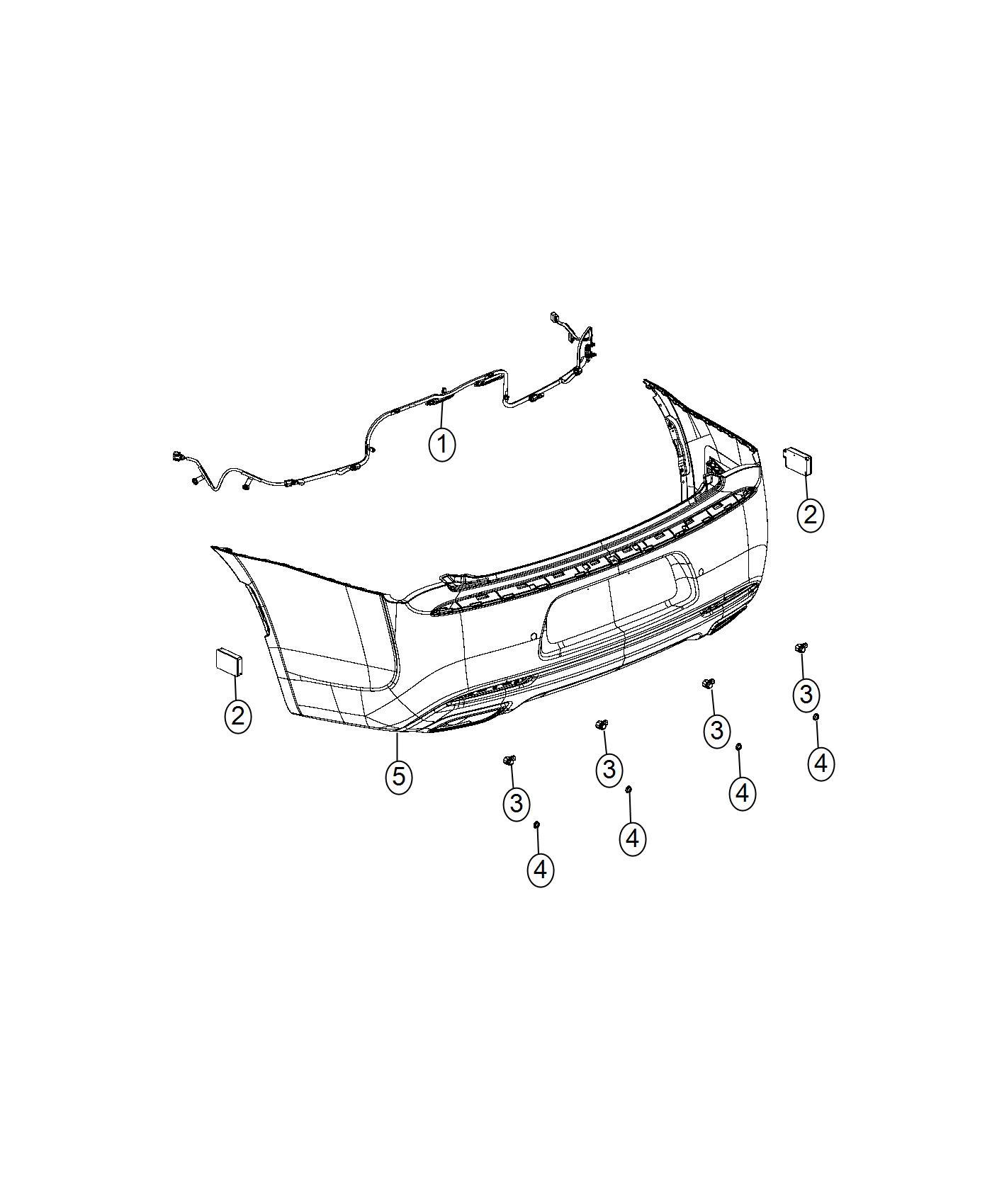 Chrysler 300 Module Blind Spot Detection Used For Right