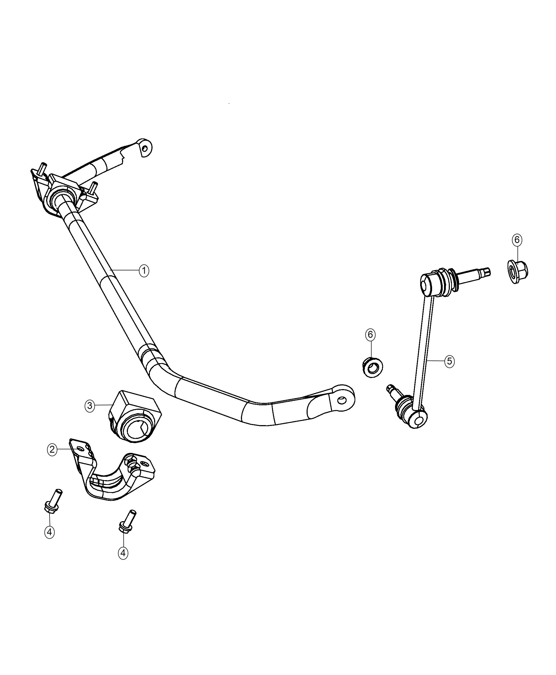 Dodge Charger Stabilizer Bar Front Suspension