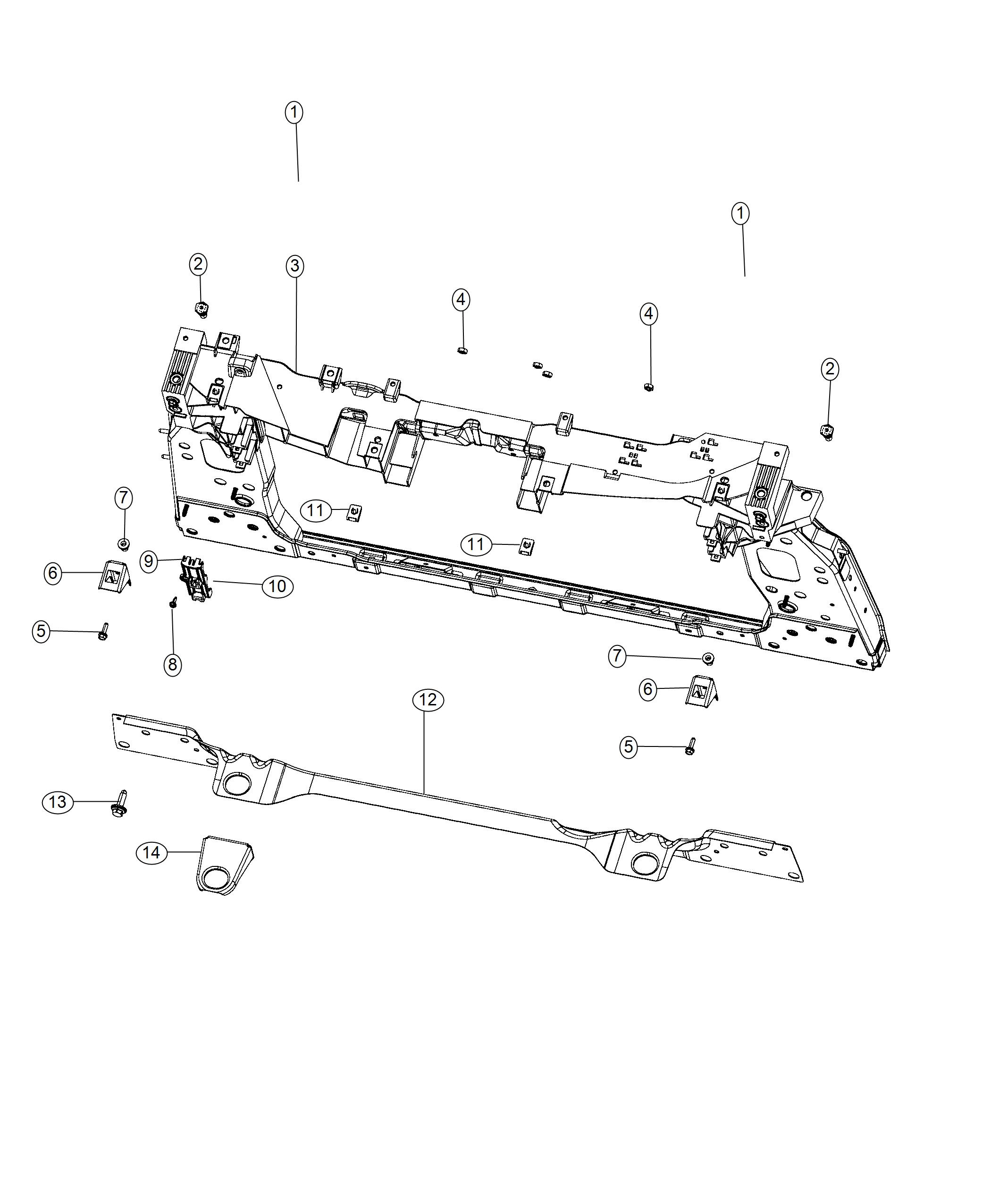 Jeep Renegade Screw