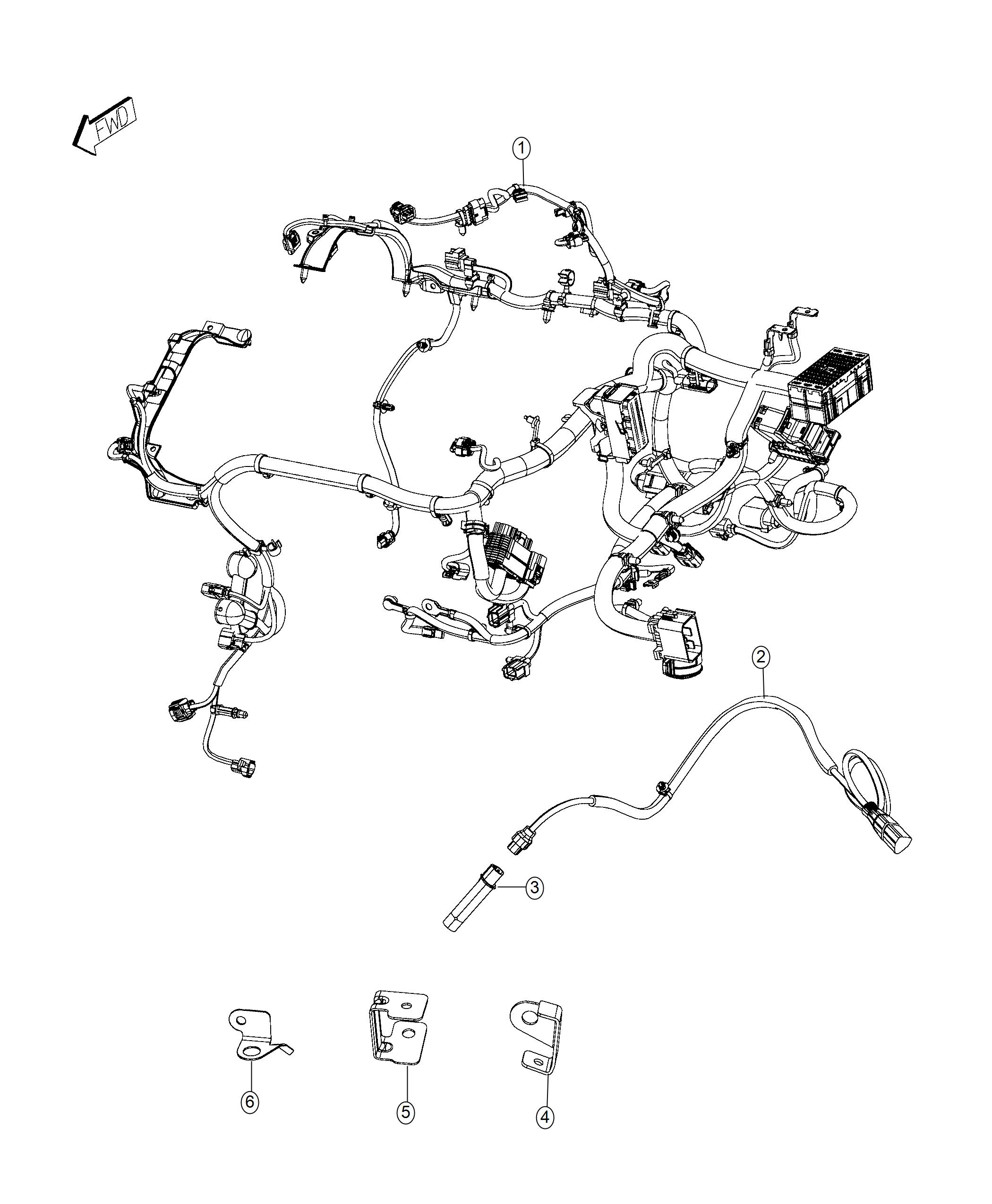 Jeep Renegade Wiring Transmission Jumper 4 30 Rear Axle