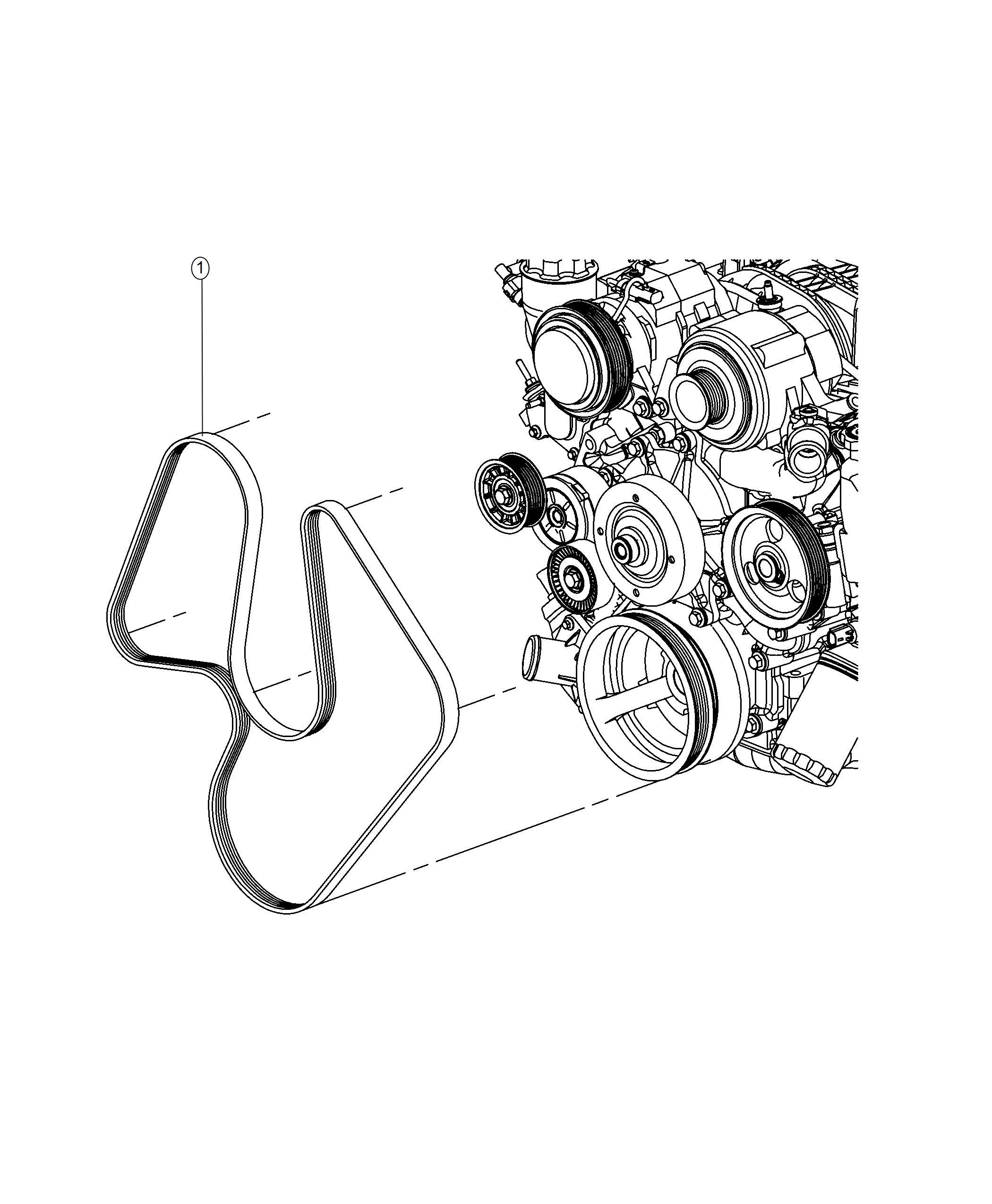 Dodge Durango Belt Serpentine Belts Maintenance
