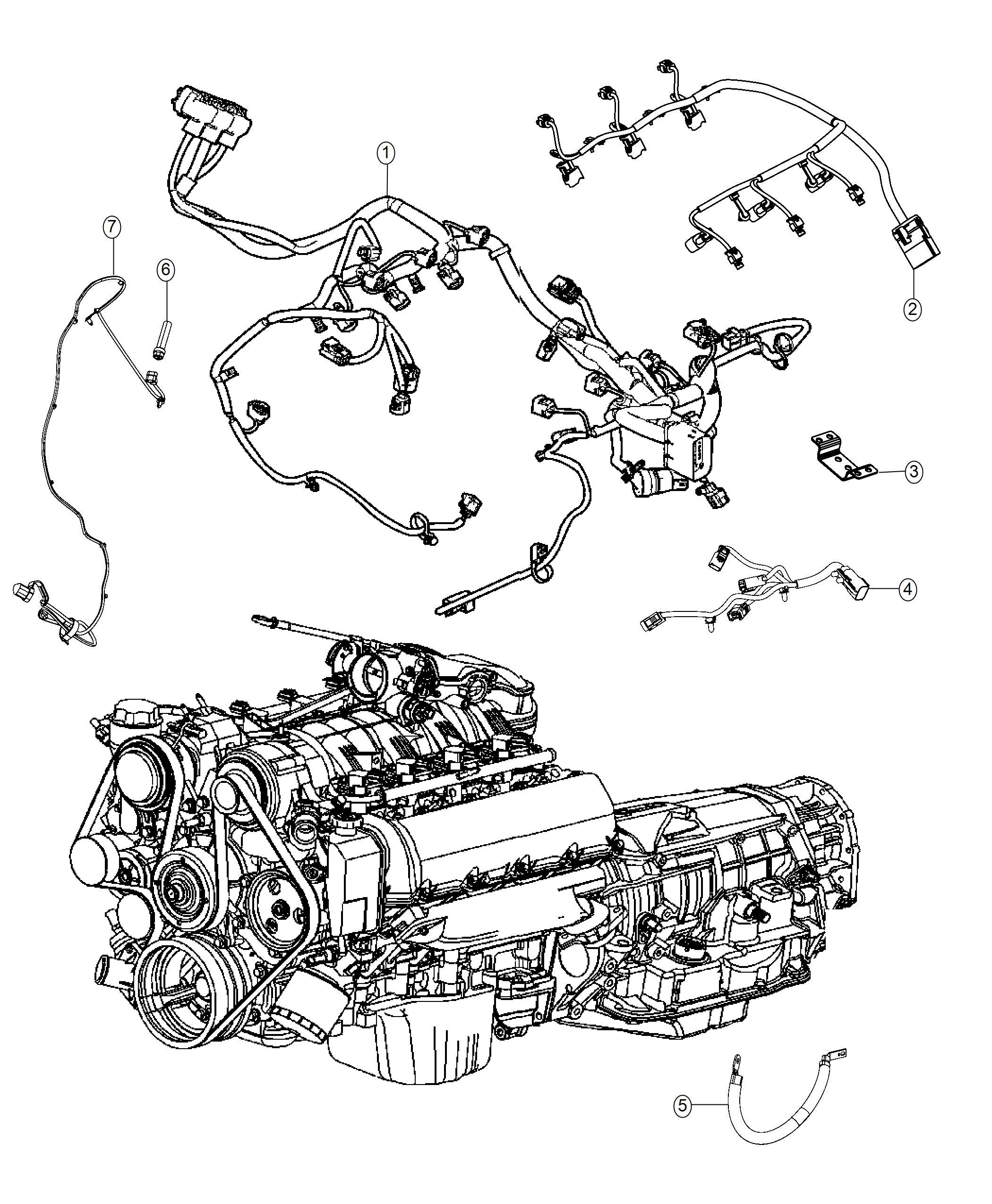 Dodge Durango Wiring Injector Engine