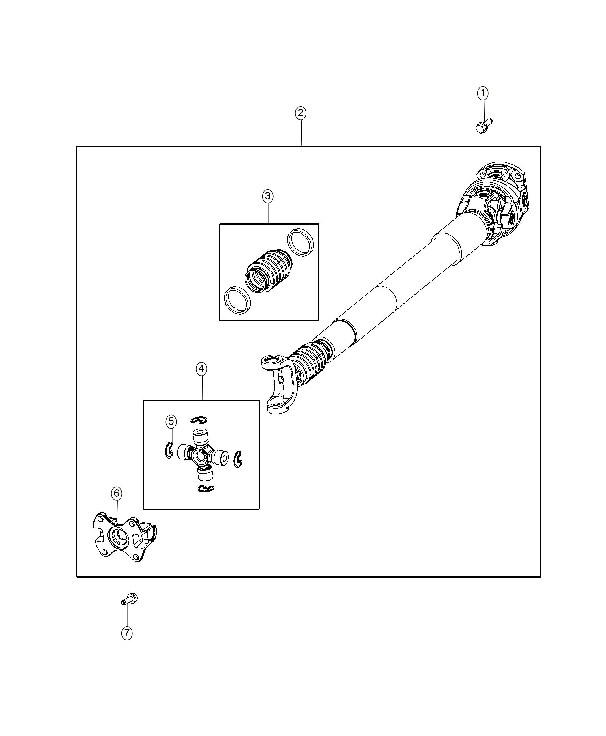 Ram Shaft Drive Front Flat Flange Transmission