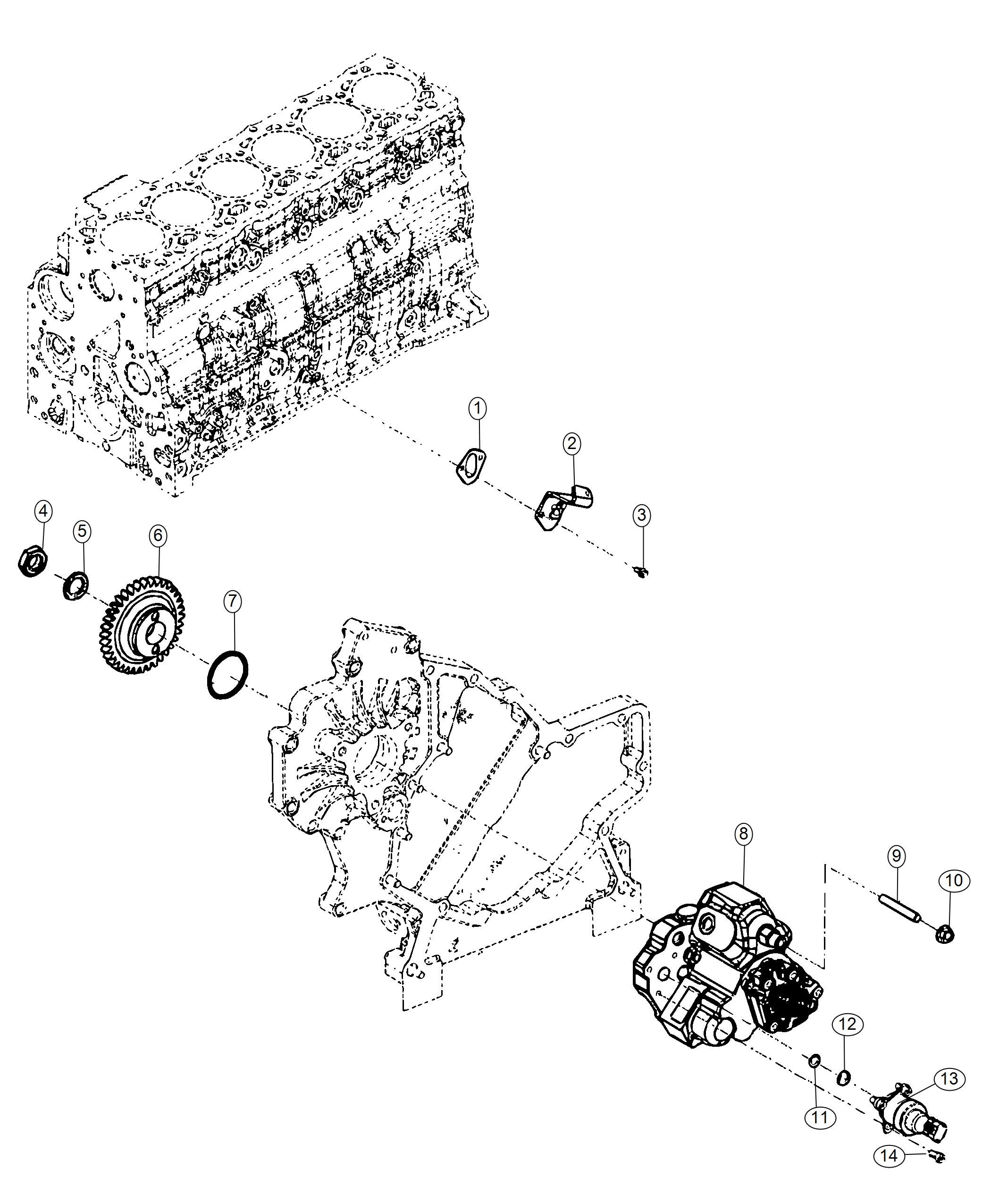 Dodge Ram Cover Fuel Transfer Pump Access Hole