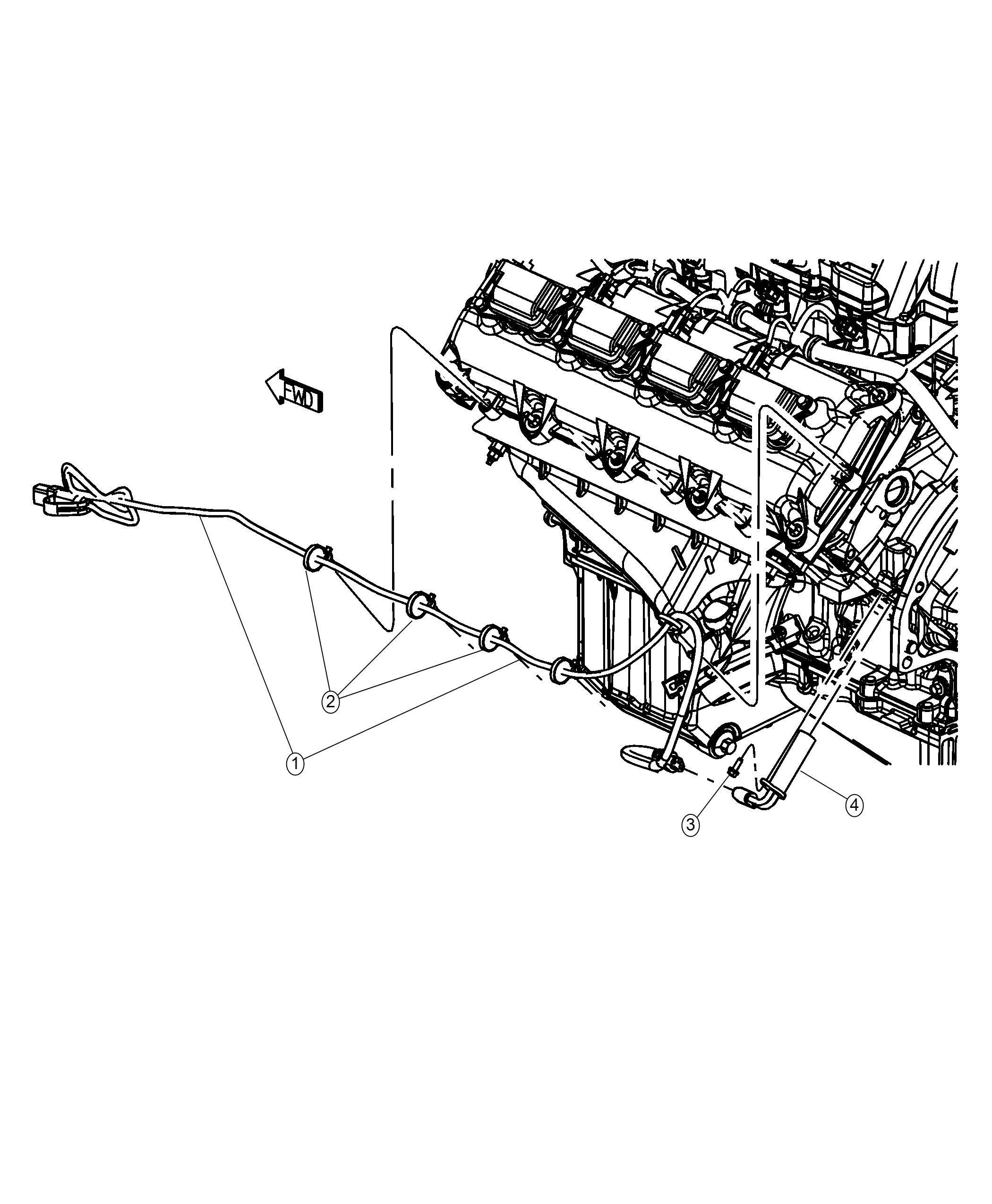 Ram Cord Engine Block Heater Front Axles Lok