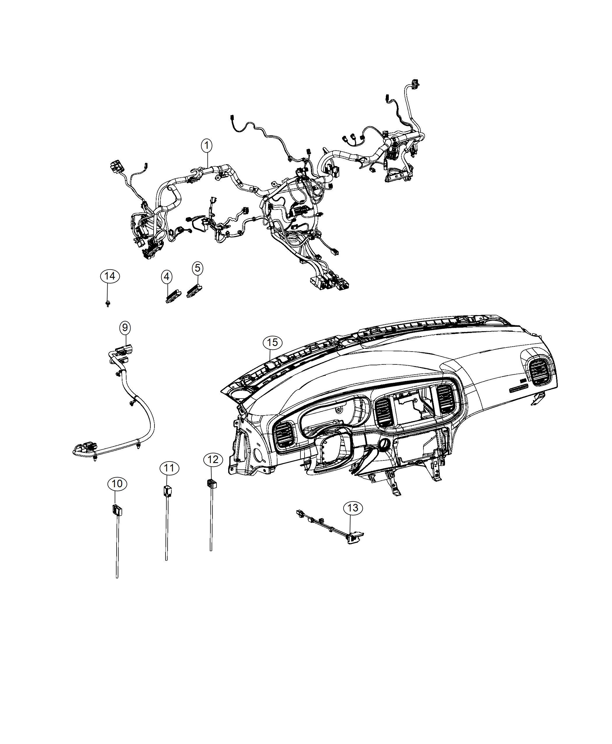 Dodge Ram Screw M6x1x18 Mounting Pim