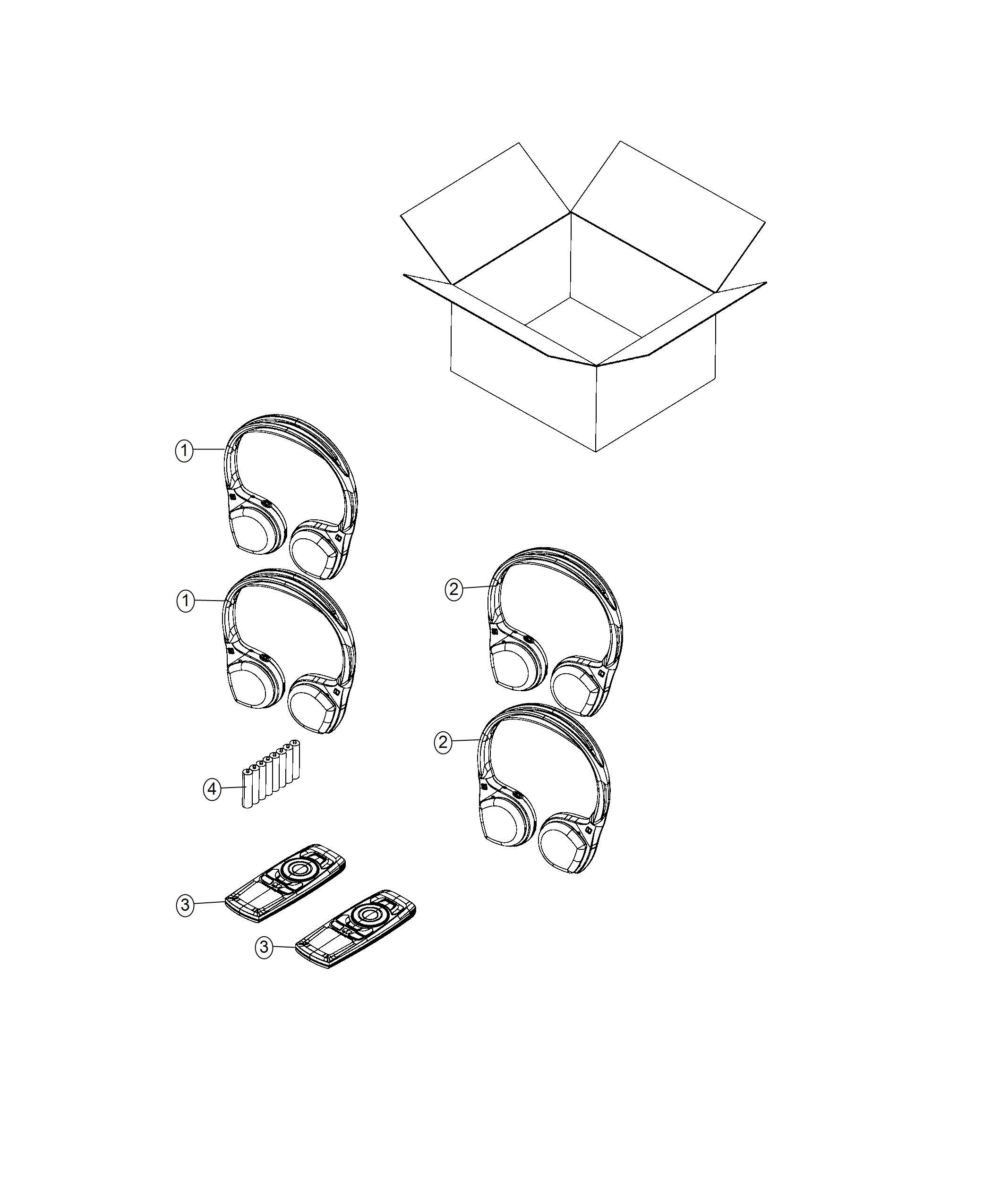 Chrysler Pacifica L Hybrid Headphones Wireless Video