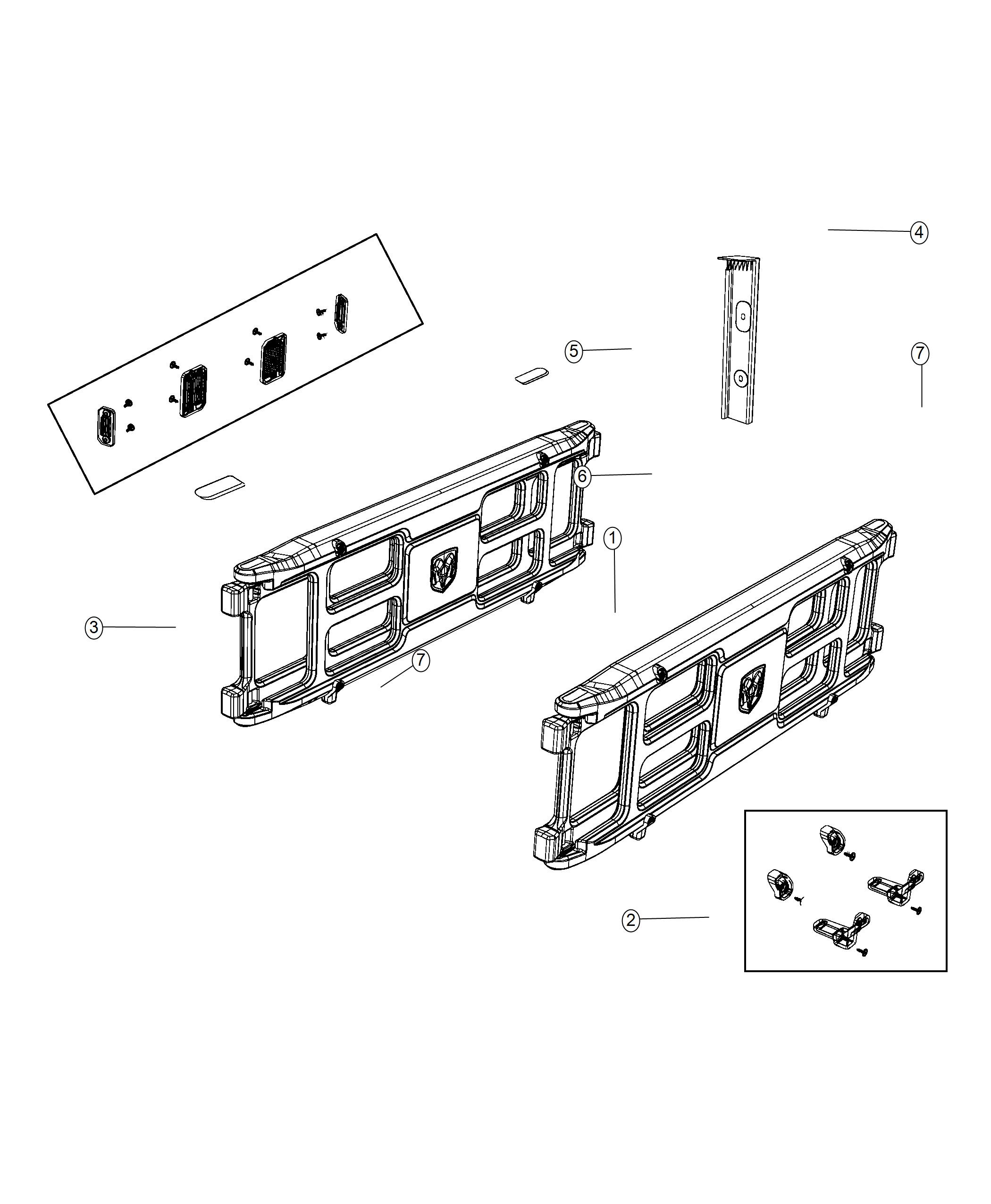 Ram Panel Pickup Box Extension Truck Bed