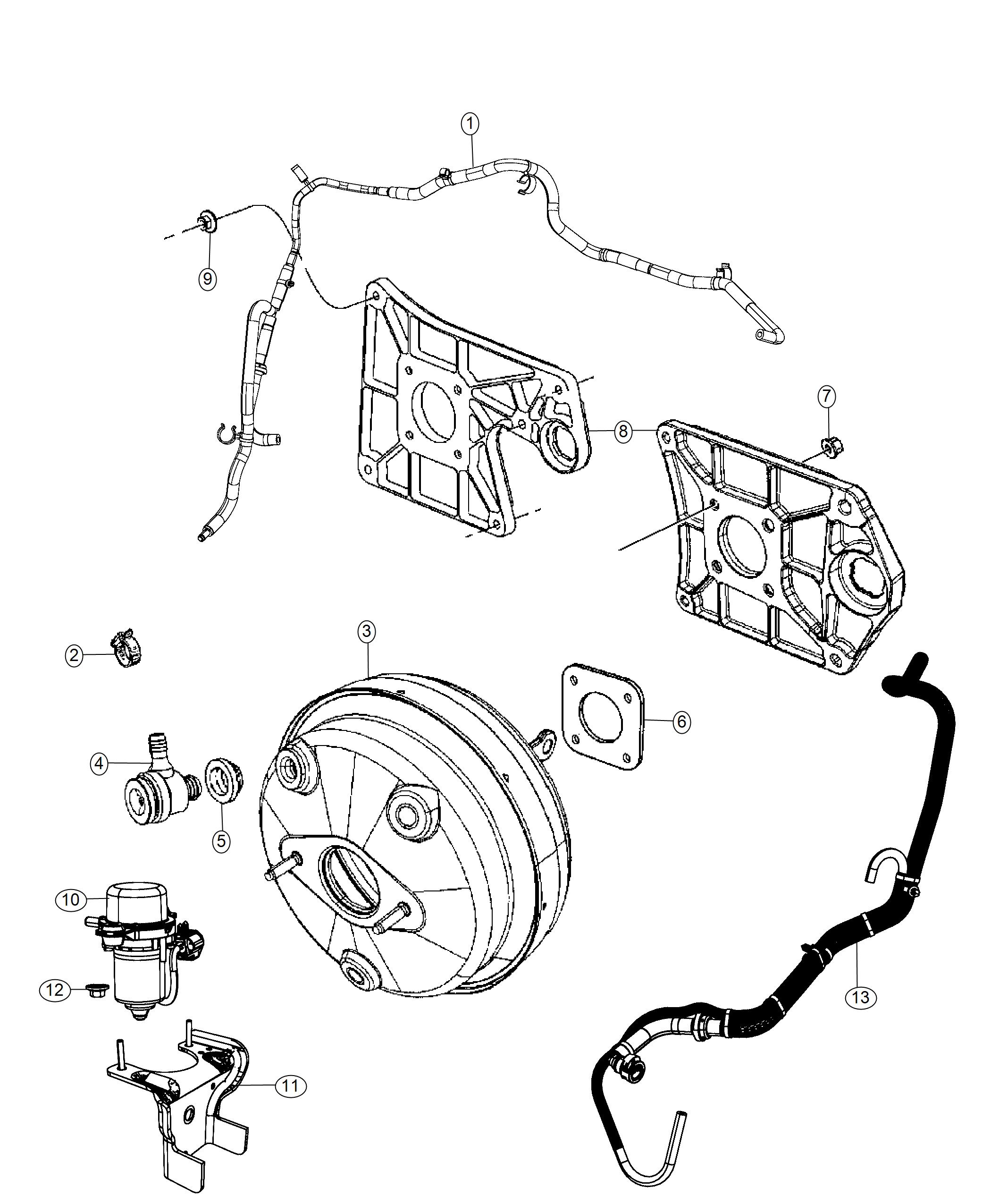 Jeep Wrangler Pump Air 3 6l V6 Vvt Engine Brake