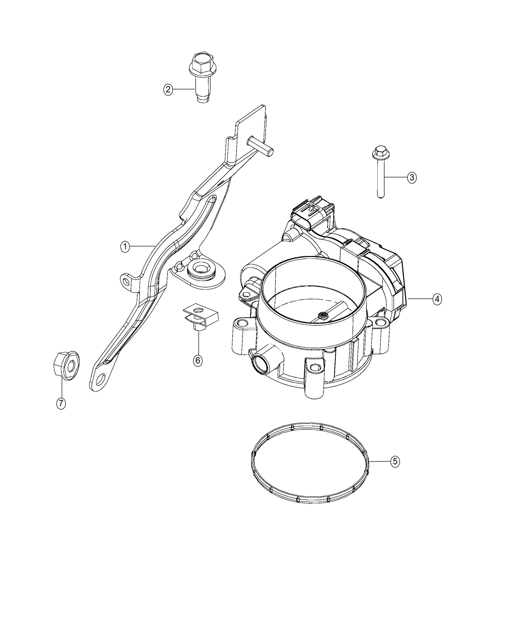 Ram Seal Throttle Body To Intake Engine Cng Ezf