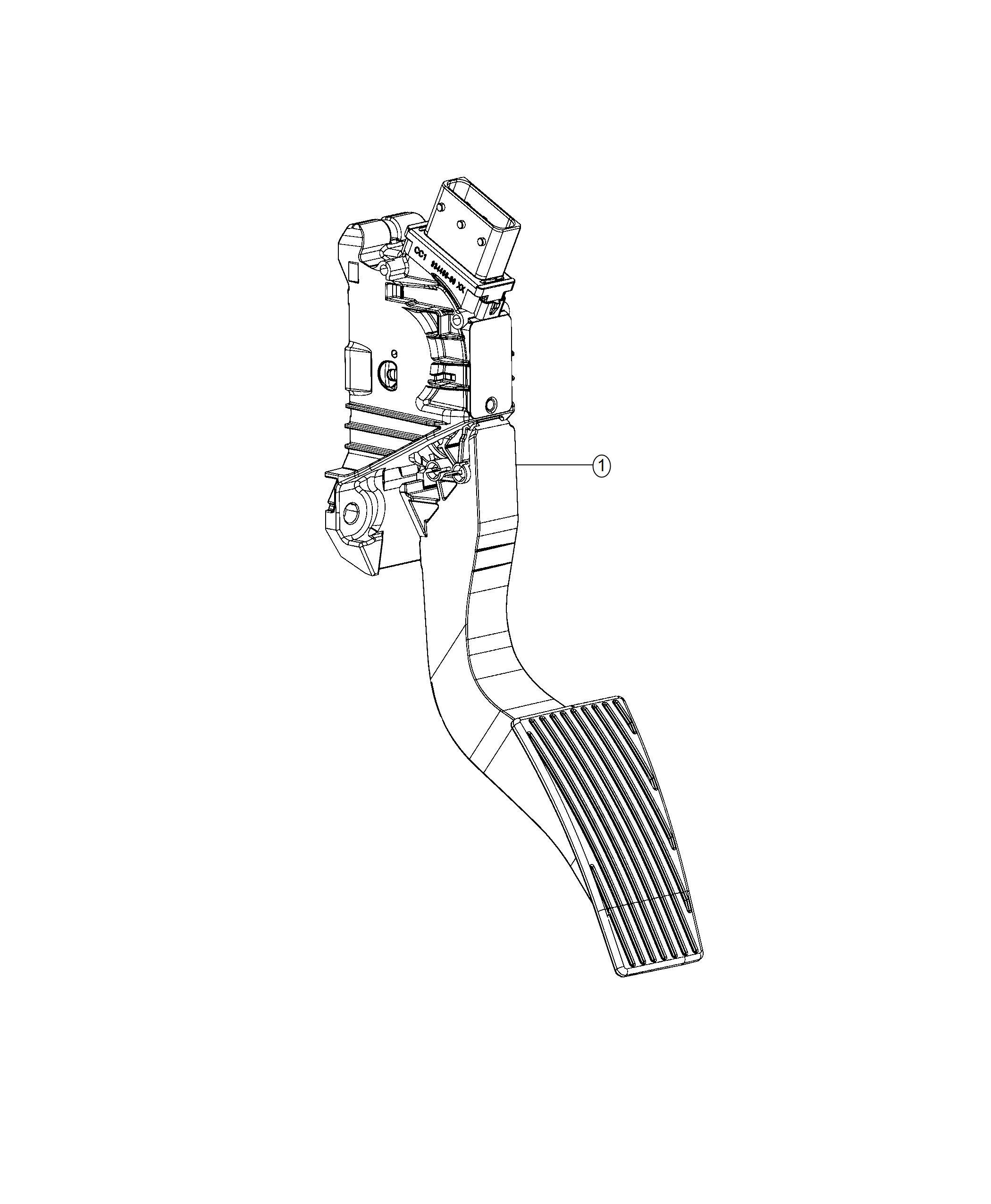 Ram Pedal Accelerator Non Adjustable Pedals