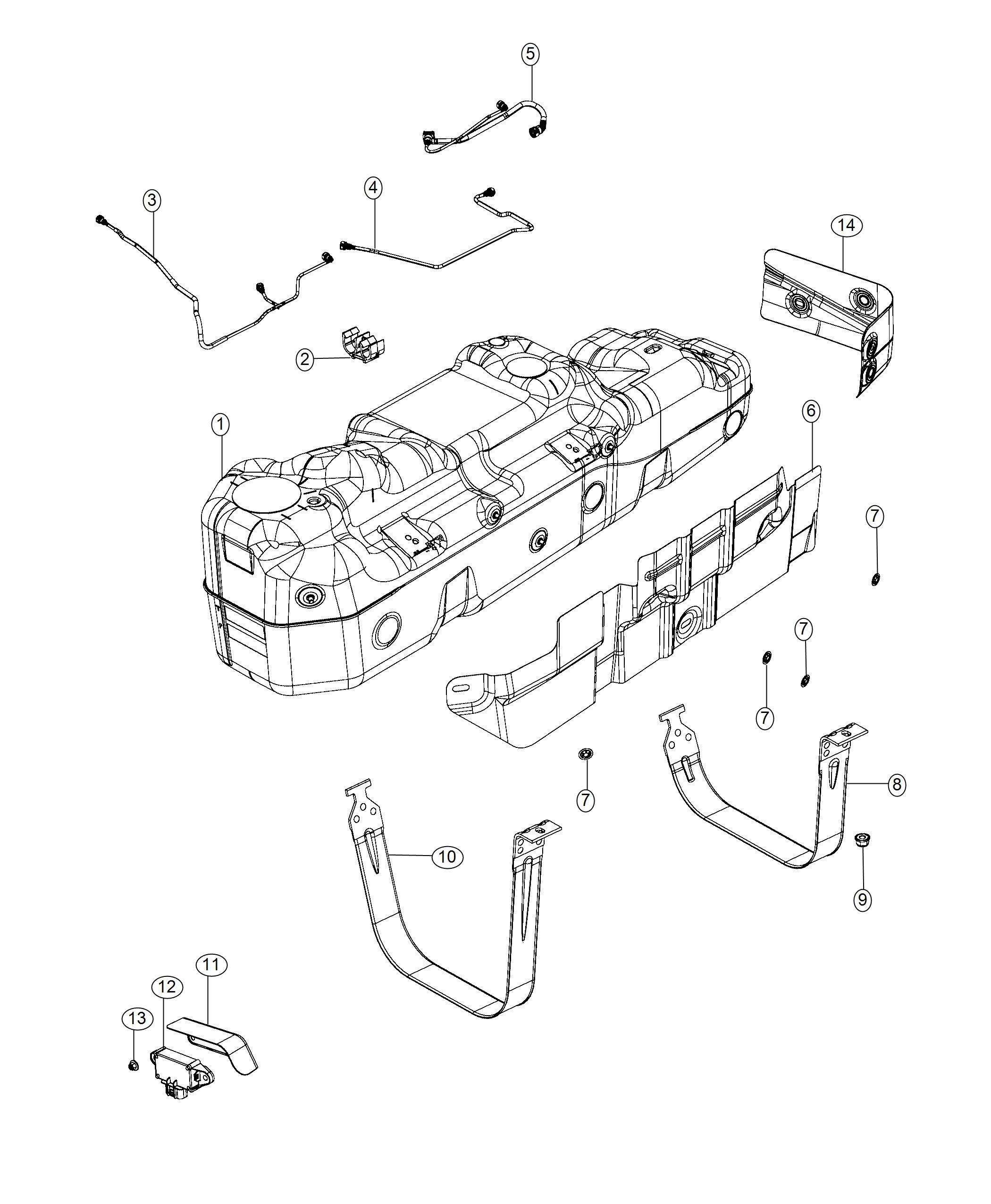 Ram Shield Fuel Tank Heat 23 Gallon Fuel Tank