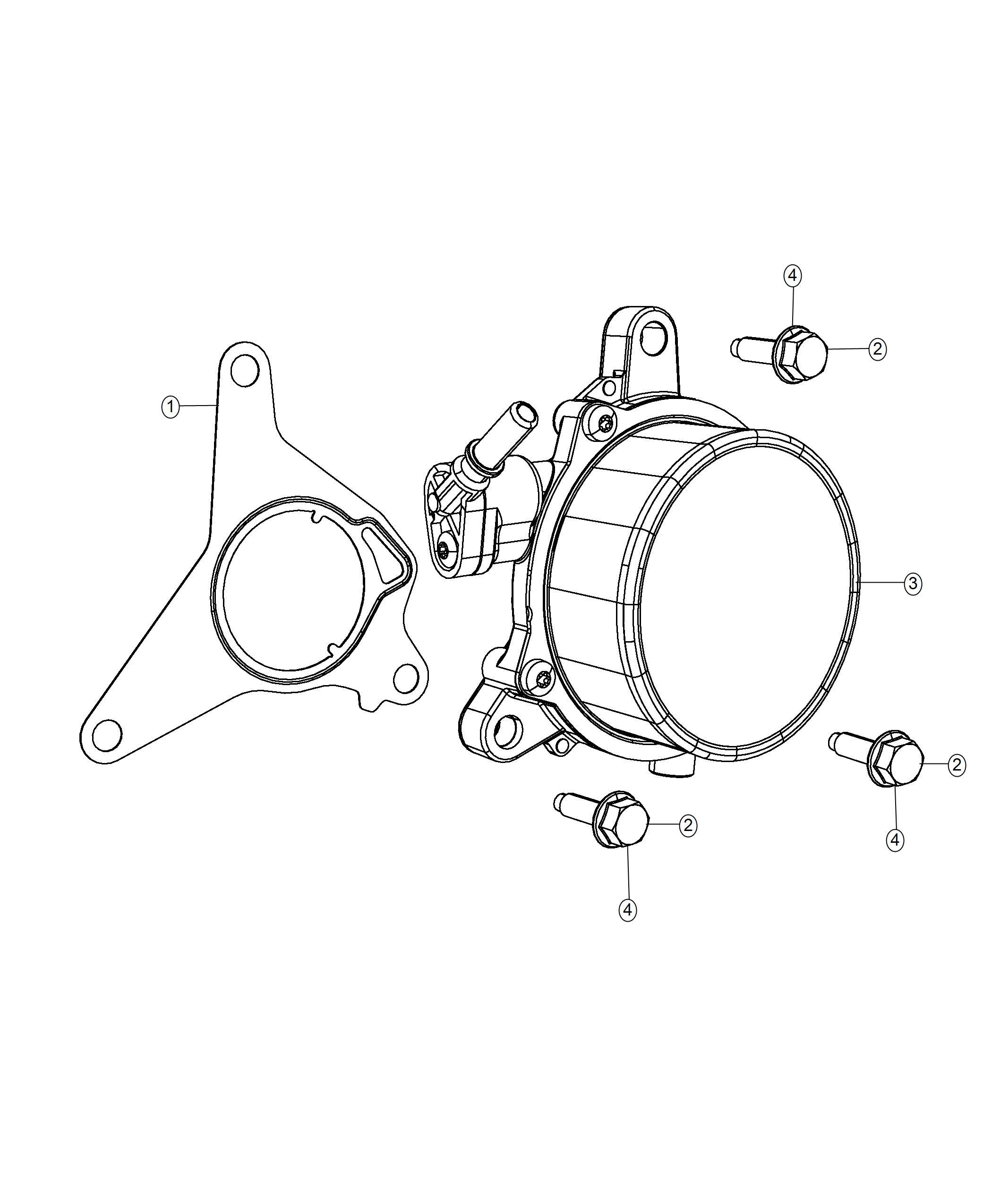 Jeep Renegade Pump Vacuum Export Enginesel