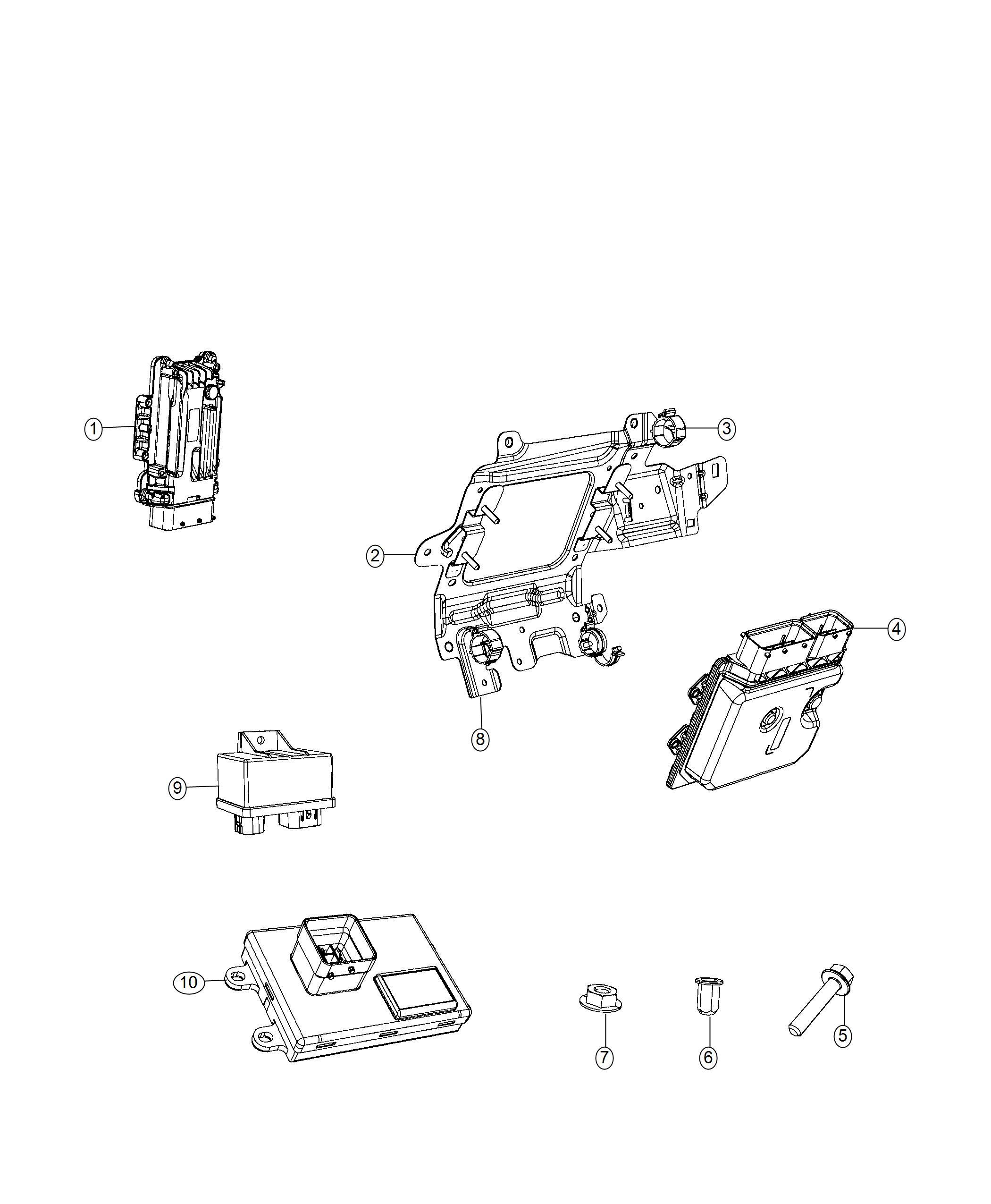 Ram Promaster City Wagon Slt Bracket Engine Wiring