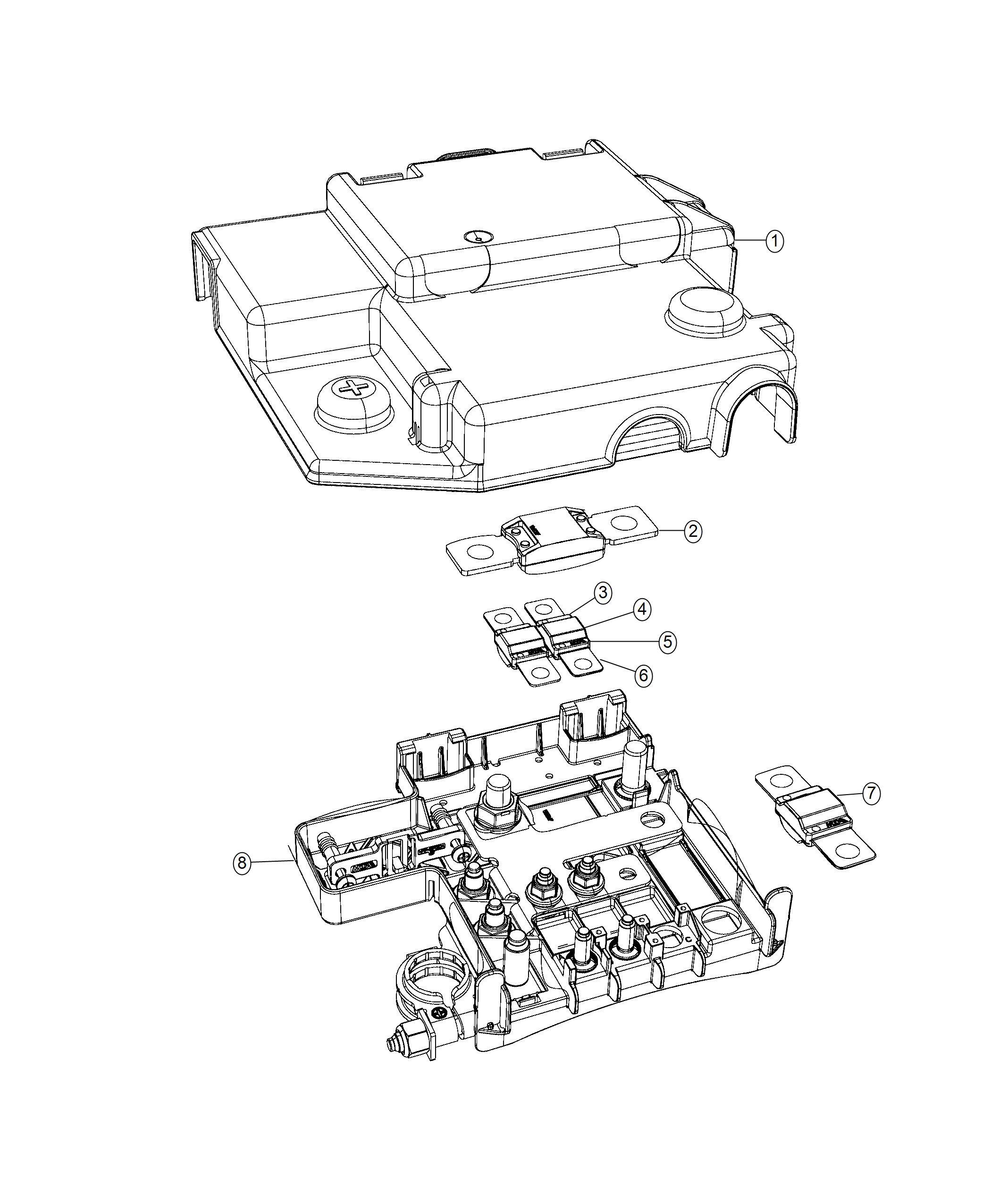 Jeep Compass Control Unit Battery
