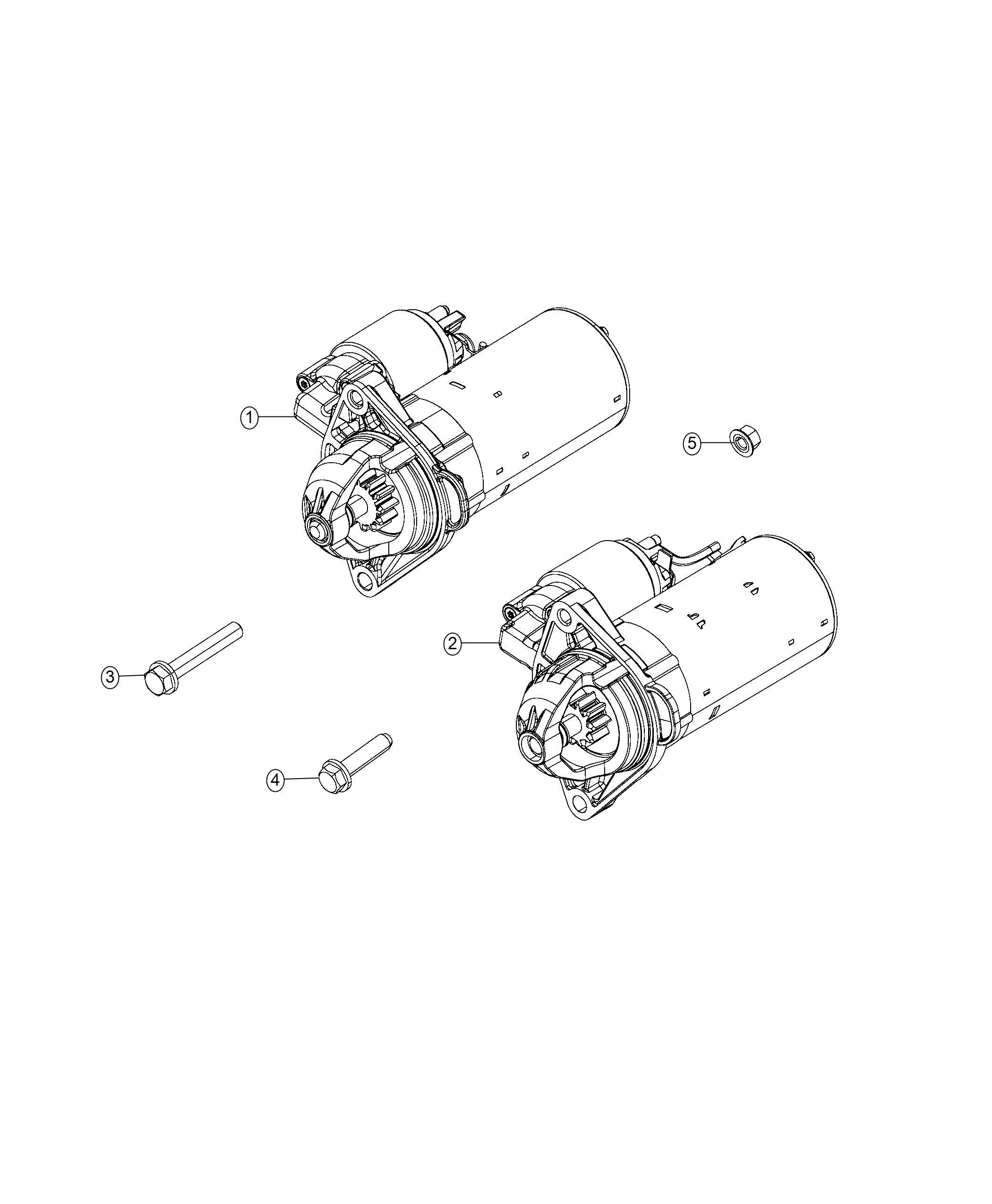 Ram Starter Engine Remanufactured