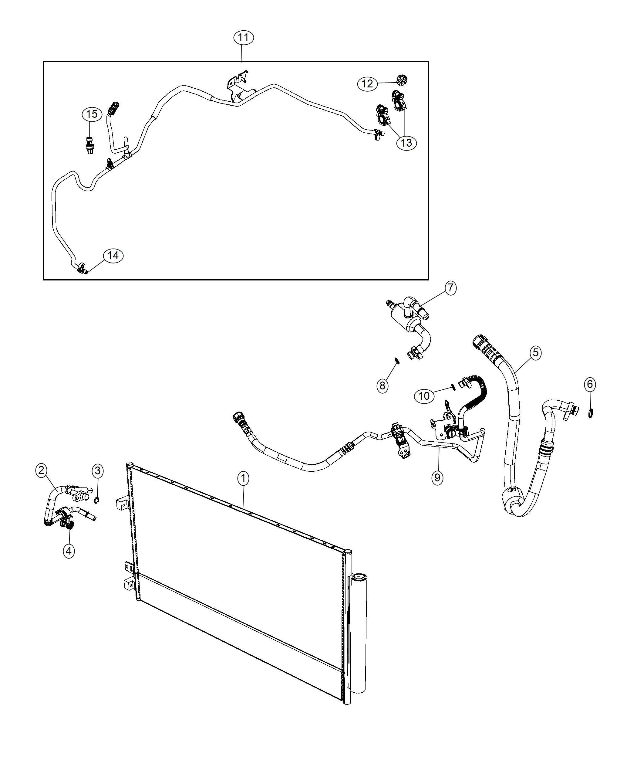 Jeep Renegade Line A C Liquid Air Zone Dual