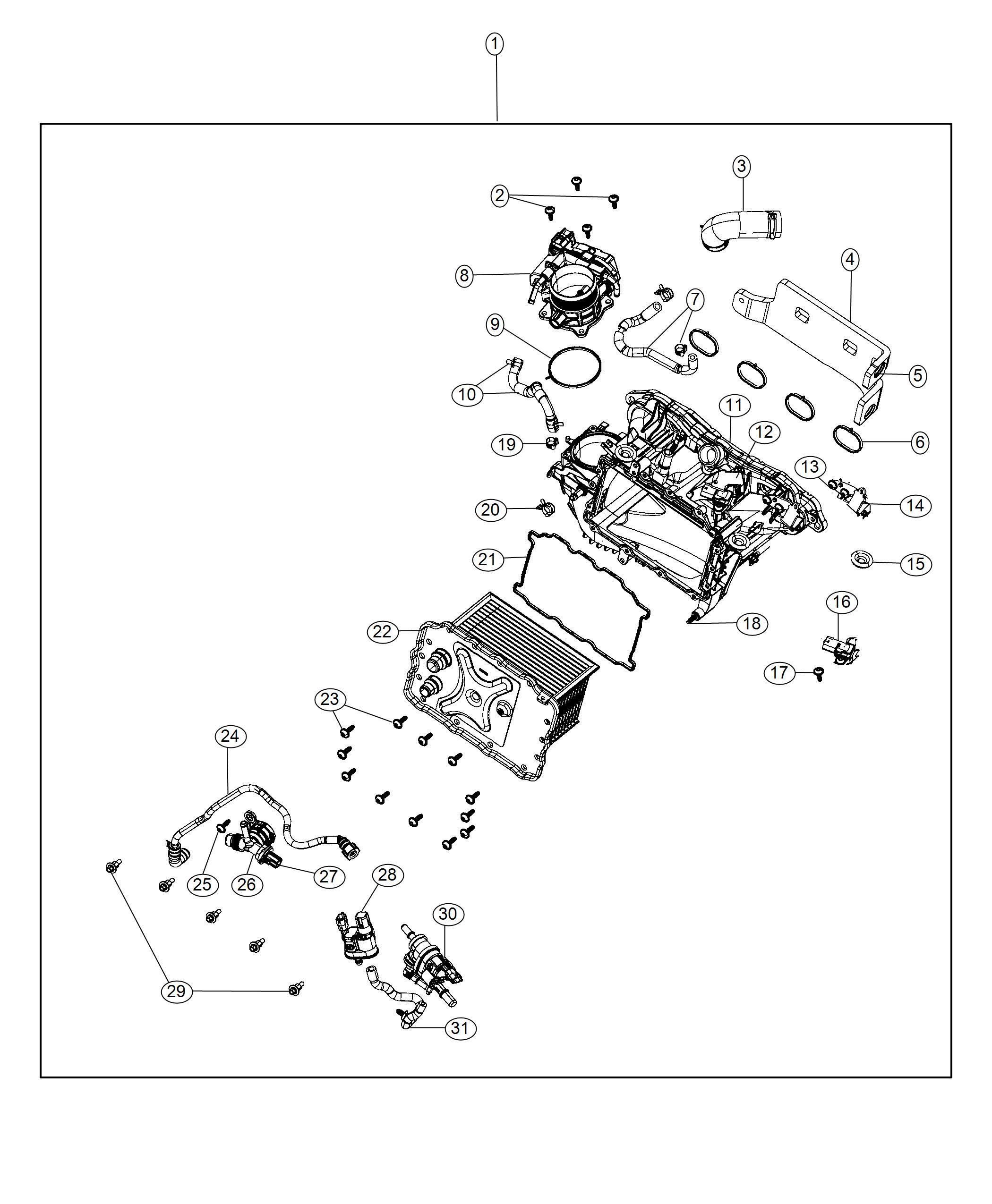 Jeep Wrangler Valve Obd Vent