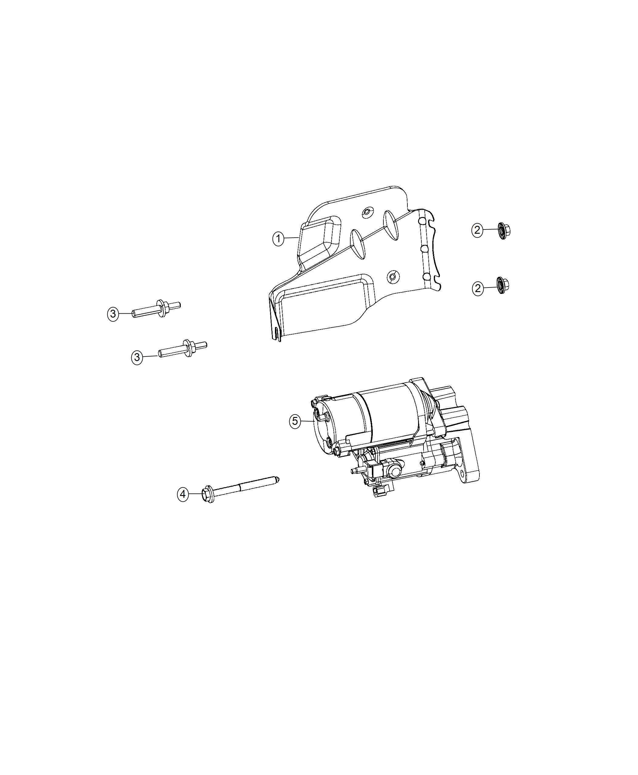Dodge Challenger Shield Heat Related Starter