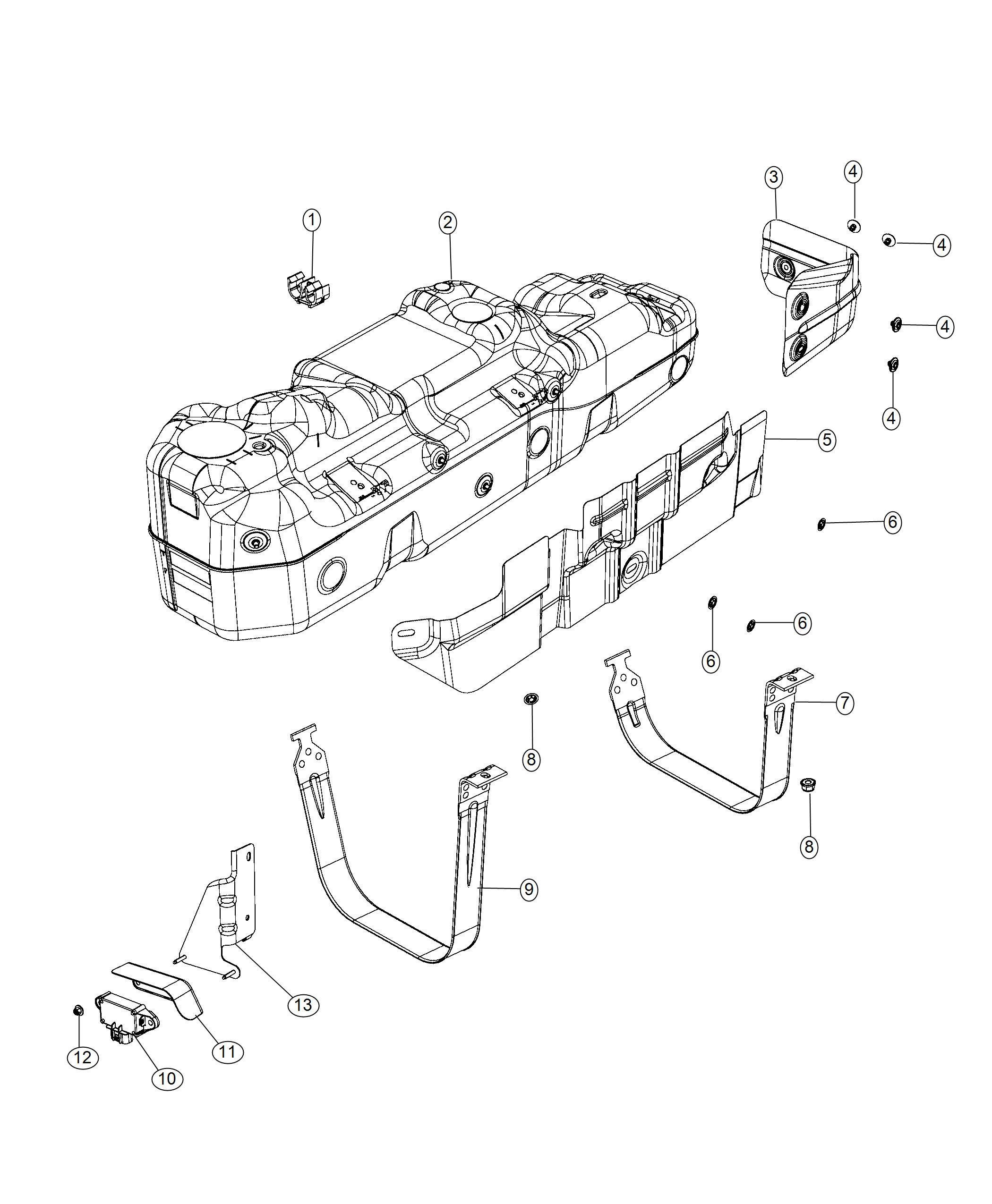 Ram Bracket Module Fuel
