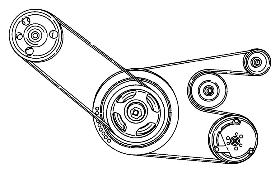 Chrysler Sebring Belt Accessory Drive Conditioning