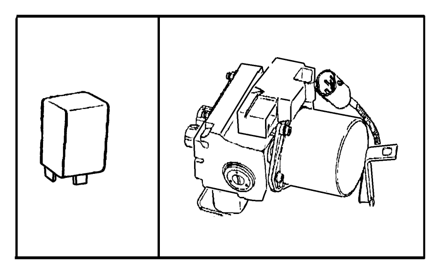 Dodge Ram Relay Mini A C A C Clutch Abs