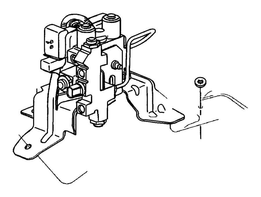 Dodge Ram Push Nut M8 Fog Lamp To Fascia Mounting