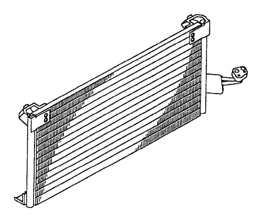 Dodge Ram Condenser Air Conditioning Pmagneti