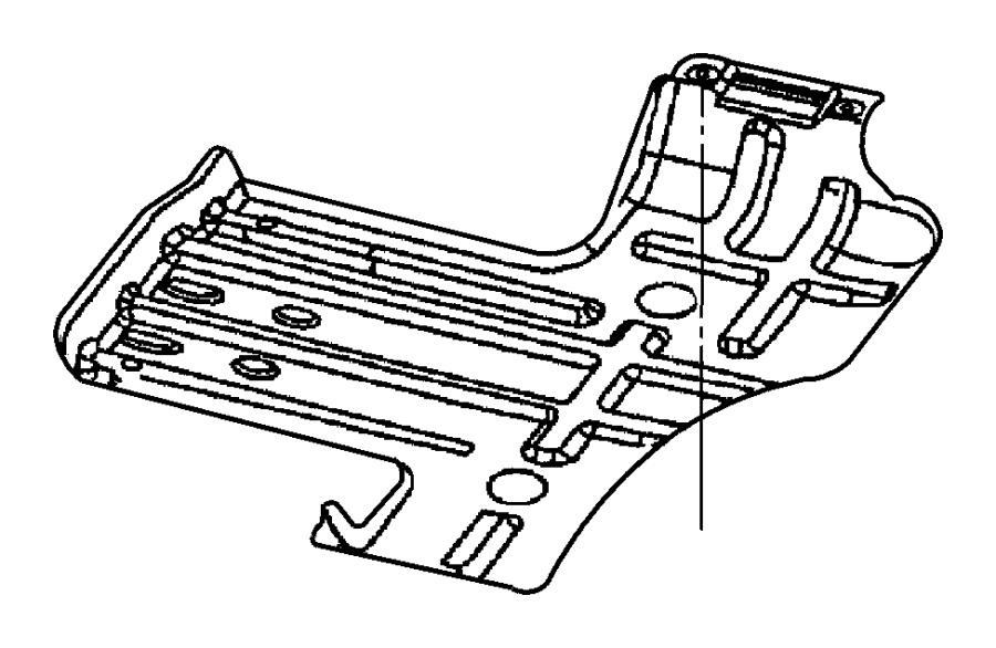 Dodge Ram Skidplate Front Axle Transfer Case