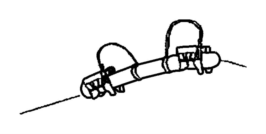 Dodge Ram Bundle Fuel Line Fuel Rail Jumper