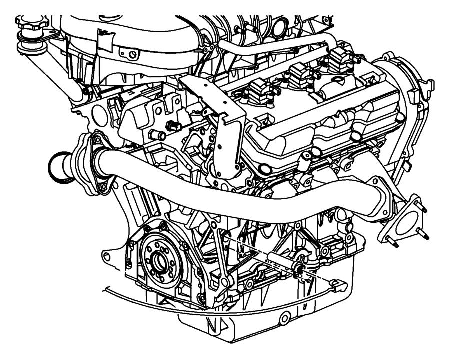 Chrysler Sebring Cord Engine Block Heater 2 4l 4 Cyl