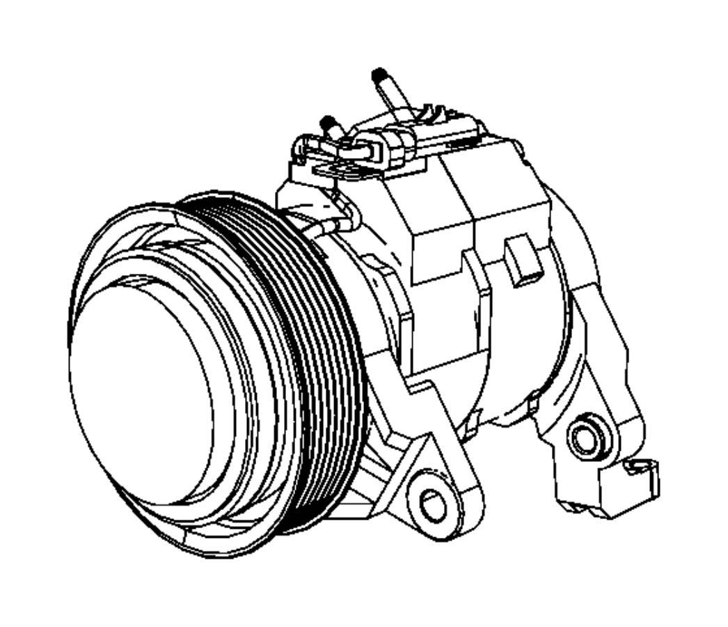 Dodge Ram Compressor Air Conditioning No Servicable