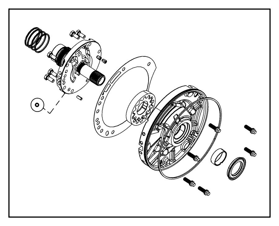 Chrysler Pacifica Pump Kit Transmission Oil