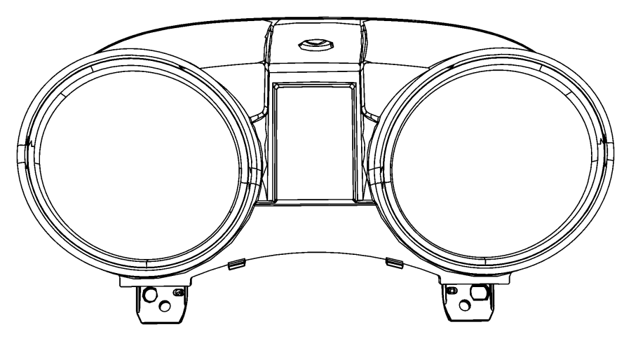 Jeep Grand Cherokee Cluster Instrument Panel 140