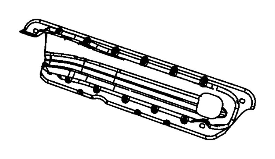 Chrysler 300 Shield Exhaust Manifold Left Left Side