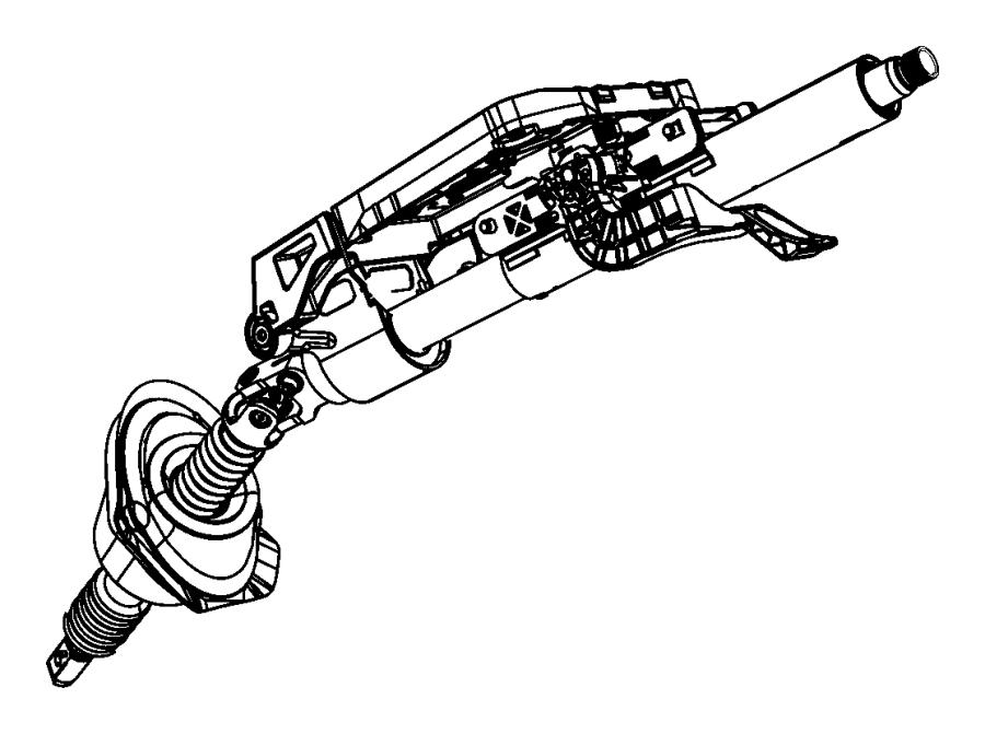 Dodge Charger Column Steering Tilt Limited Telescope