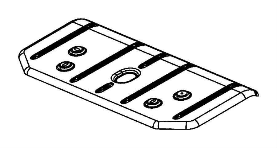 Jeep Wrangler Shield Exhaust Muffler System Shields
