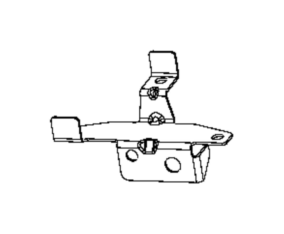 Ram Bracket Oxygen Sensor Left Left Side