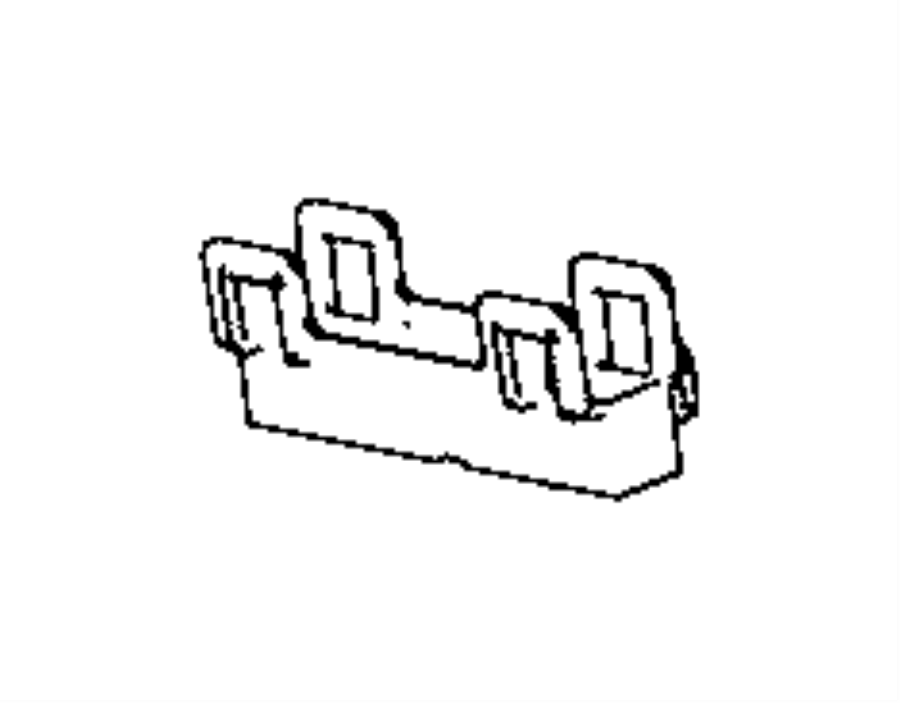 Ram Bracket Wire Harness Right Right Rear