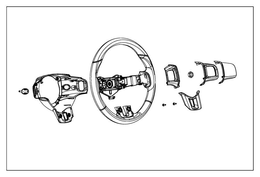 Dodge Dart Bezel Steering Wheel Right Trim All Trim