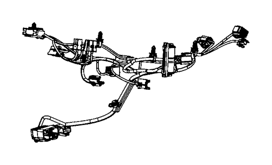 Ram Wiring Used For A C And Heater Haa Rear