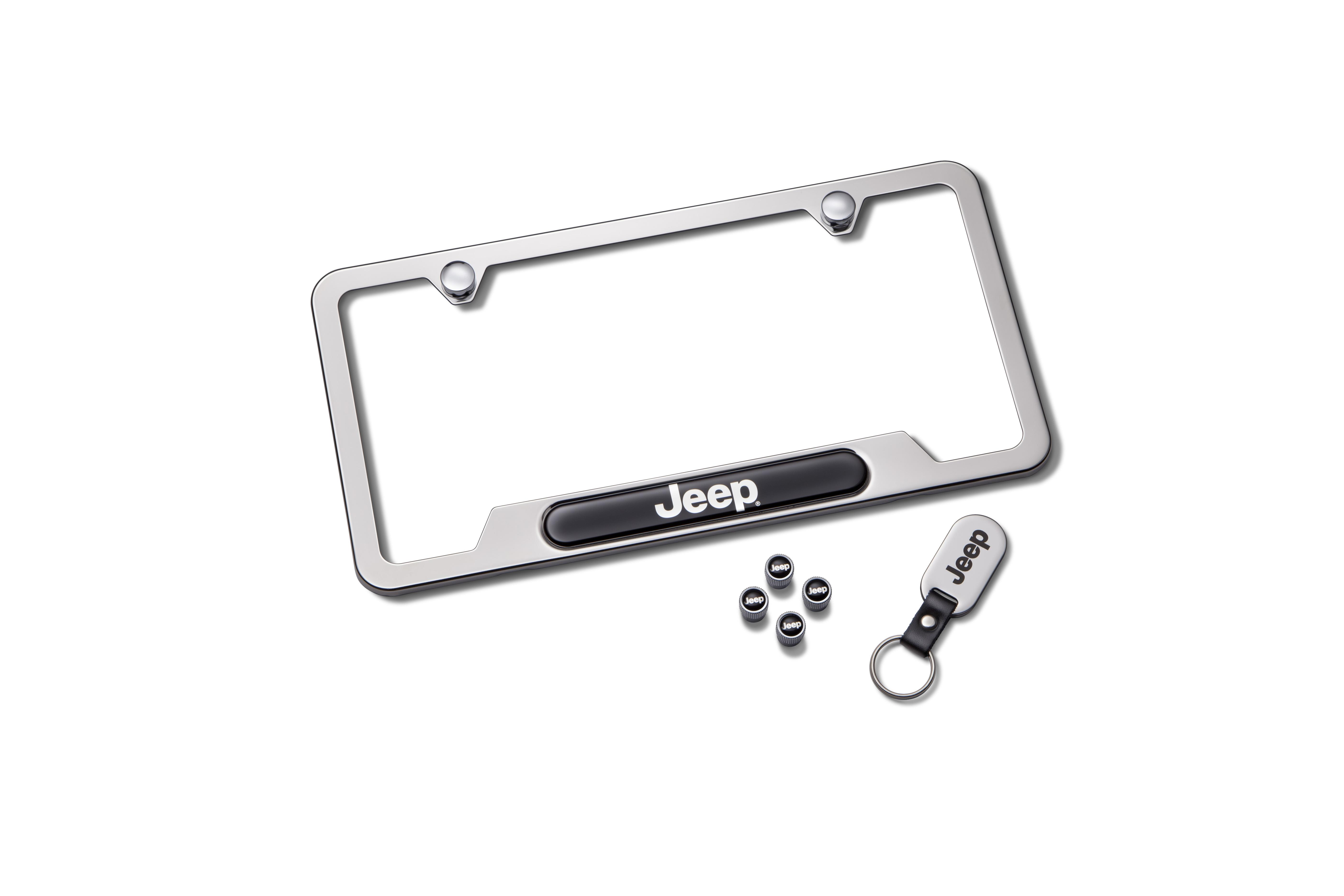 Jeep Wrangler License Plate T Set Includes One