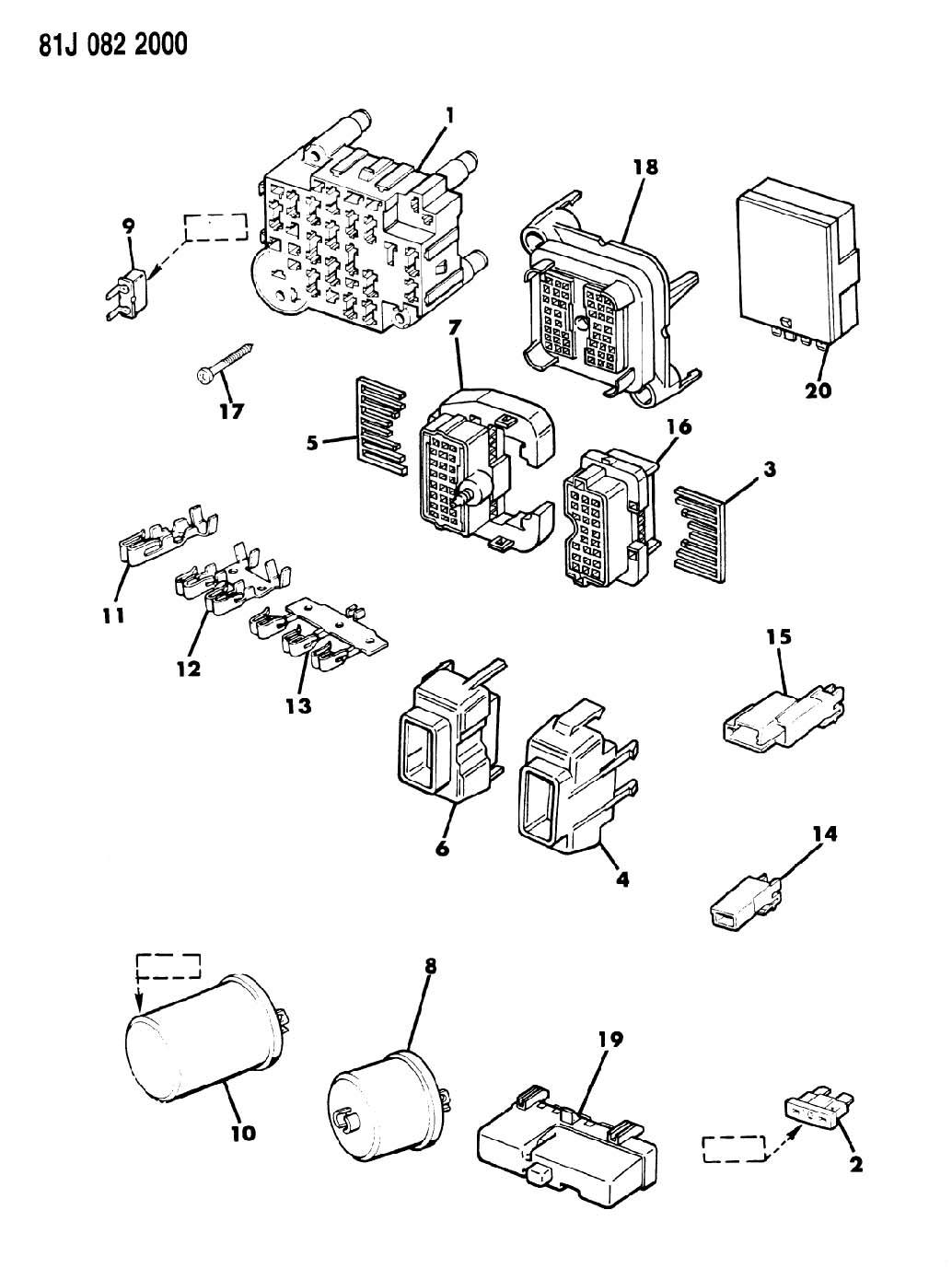 Jeep Grand Cherokee Zj Fuse Box Diagram
